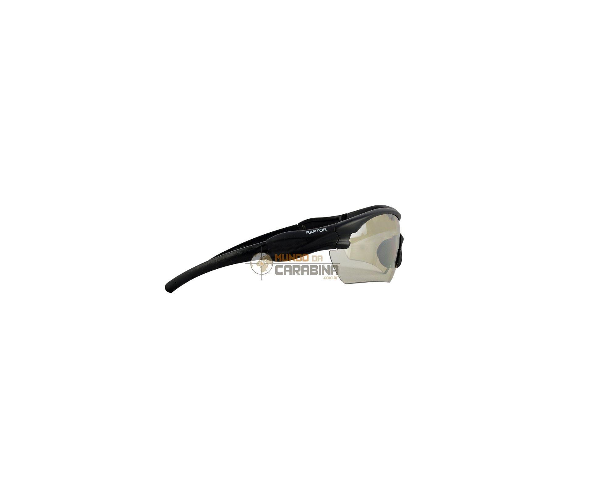 Oculos De Proteção Raptor Balistico Militar Incolor - Stp Extreme