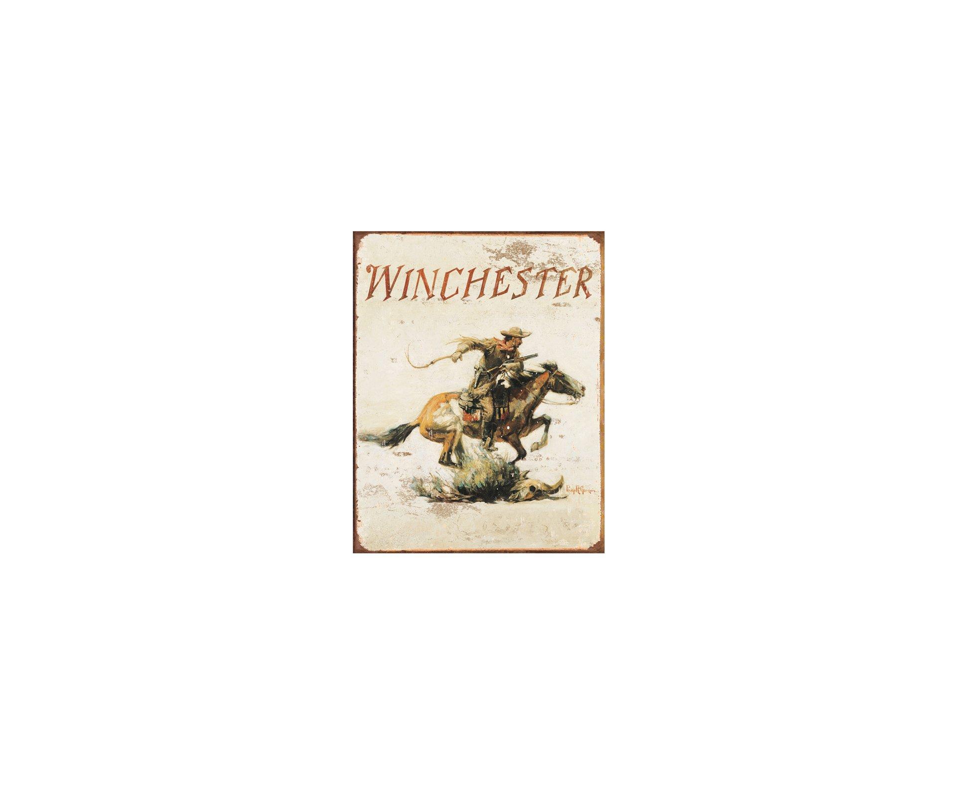 Placa Metálica Decorativa Winchester - Rossi