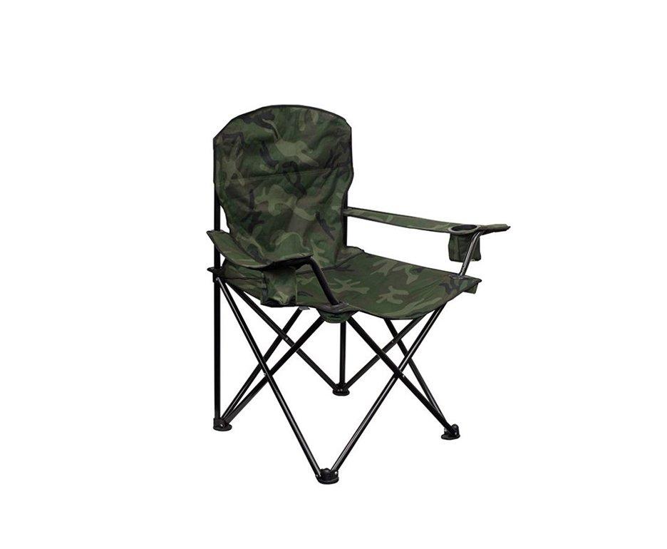 Cadeira Camping Pandera Dobrável Camuflada - Nautika