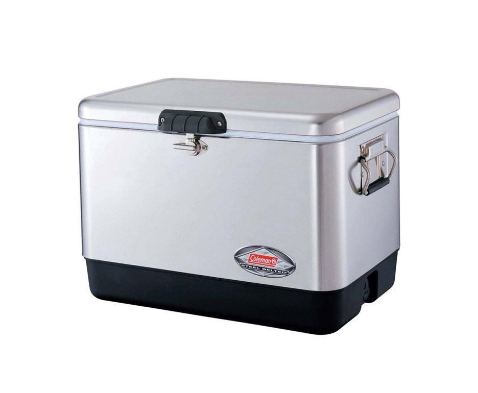 Caixa Térmica, Cooler 54qt - 51,1 Lts - Aço Inoxidável - Coleman