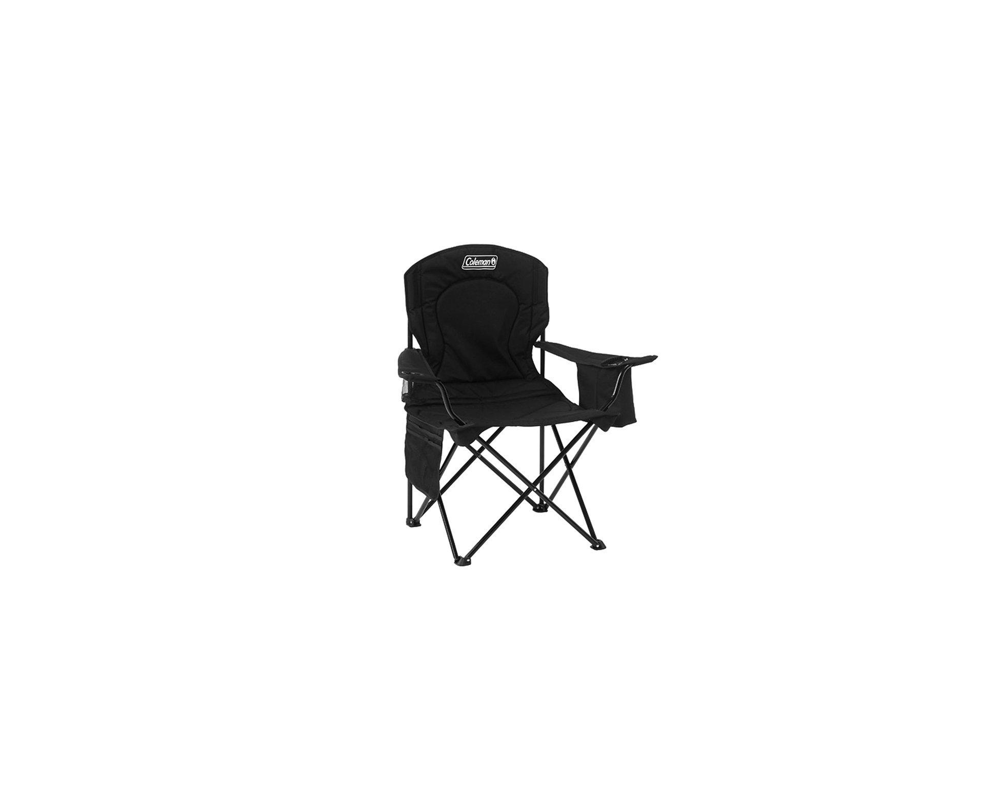 Cadeira Dobravel Com Cooler Preta - Coleman