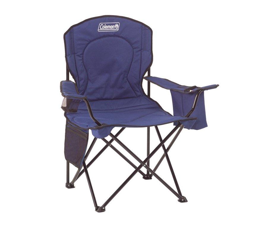 Cadeira Dobravel Com Cooler Azul - Coleman