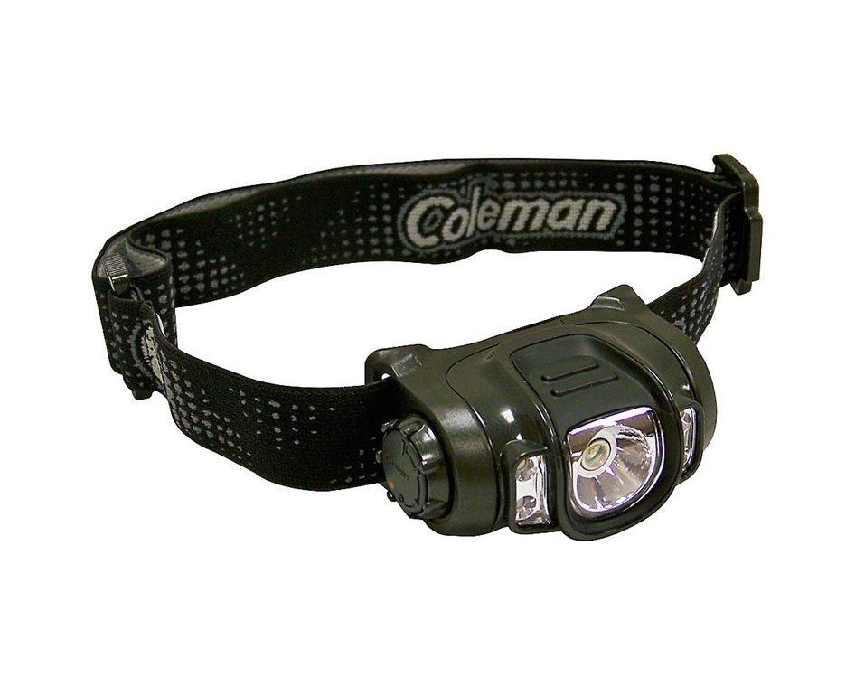 Lanterna De Cabeça Led Multicolor Preta - Coleman