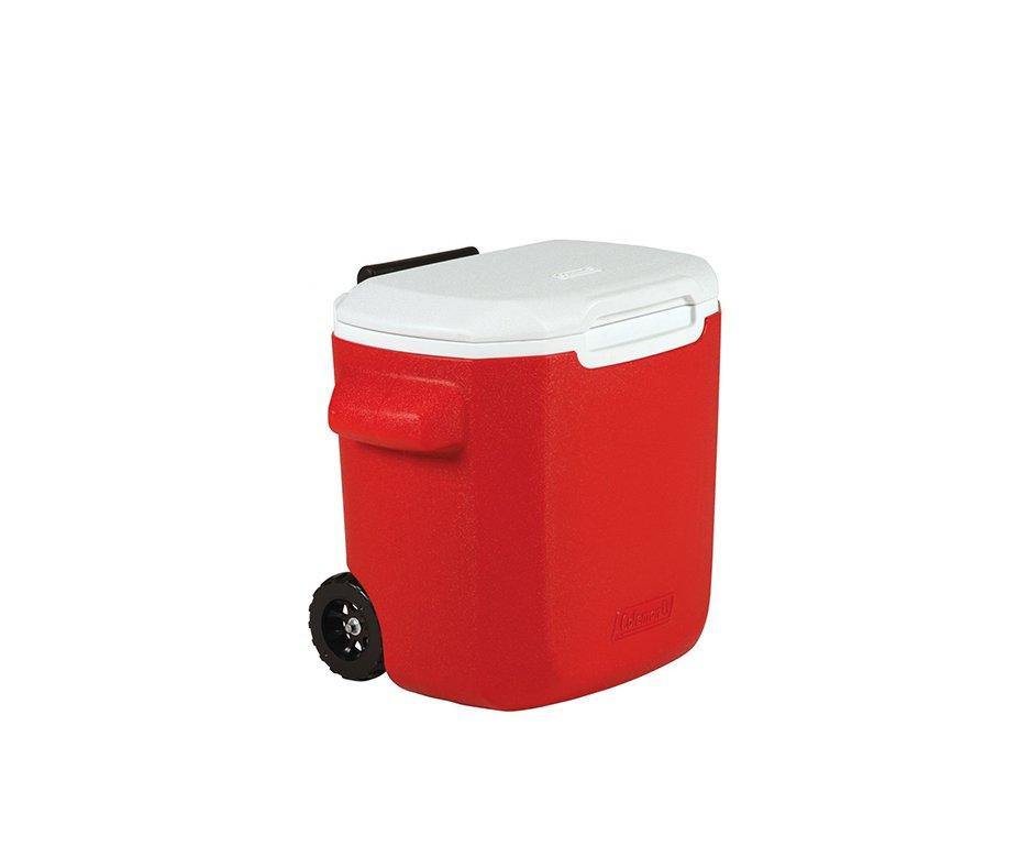 Caixa Térmica Com Rodas 16qt Vermelha - Coleman