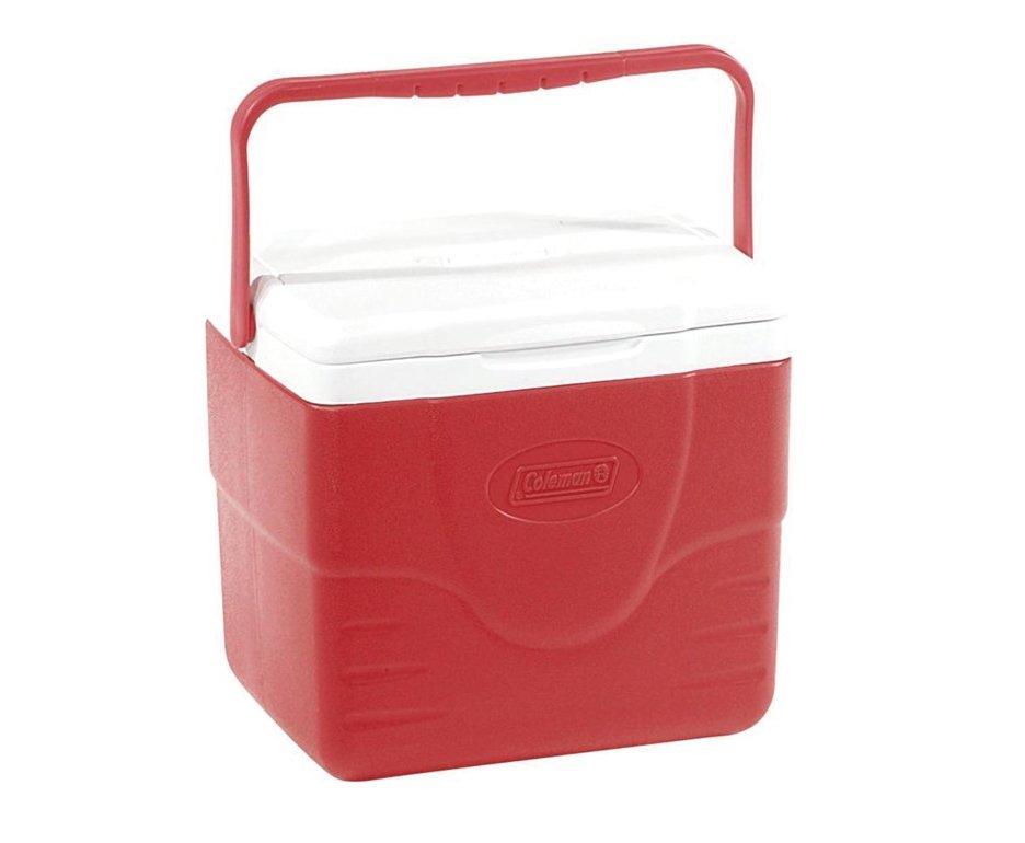 Caixa Térmica 9qt 8,5 Litros - Vermelha - Coleman