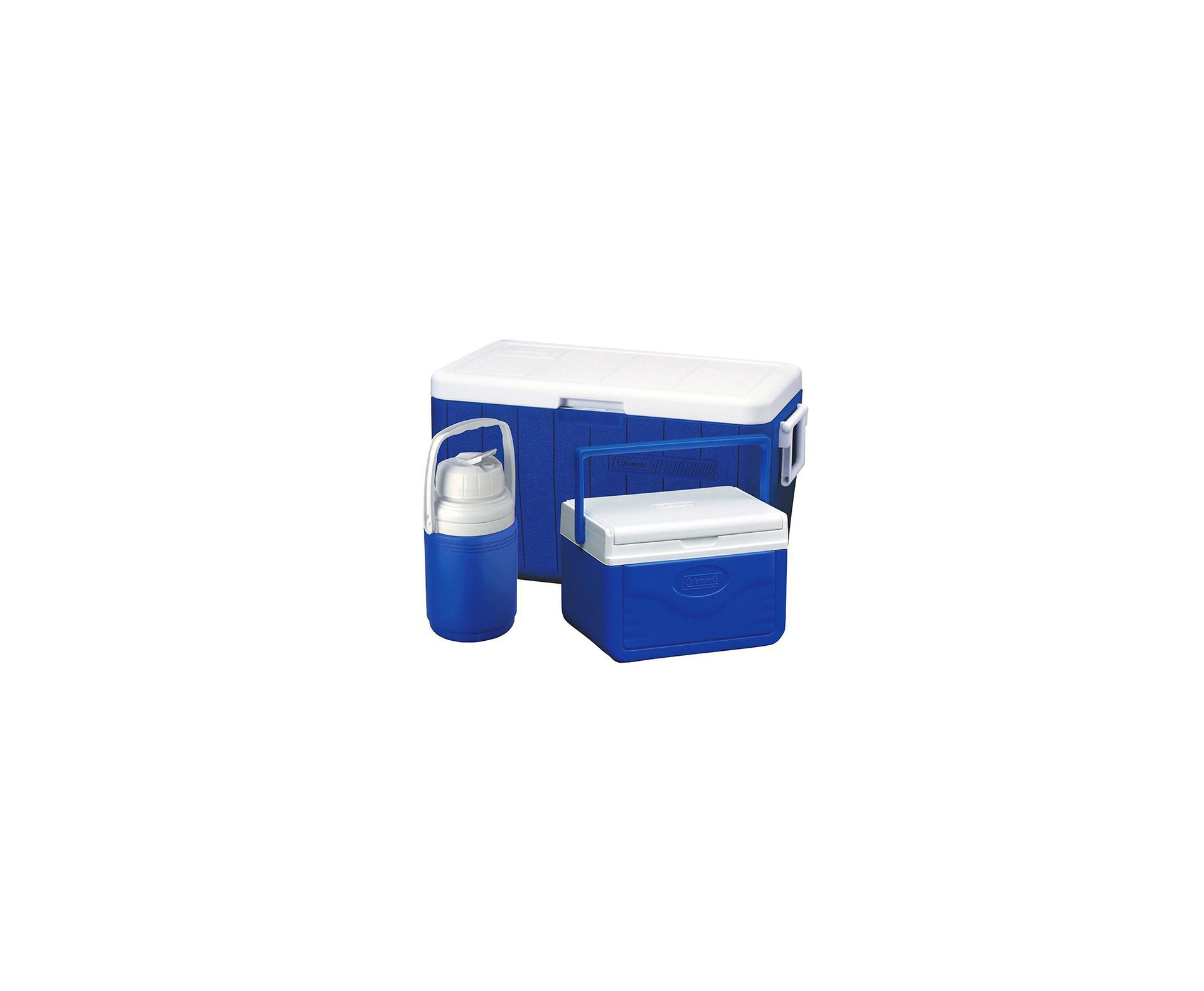 Combo 54 Qt (caixa Termica 51lts + Garrafa 1,2 Lts + Caixa 5 Lts) - Azul - Coleman
