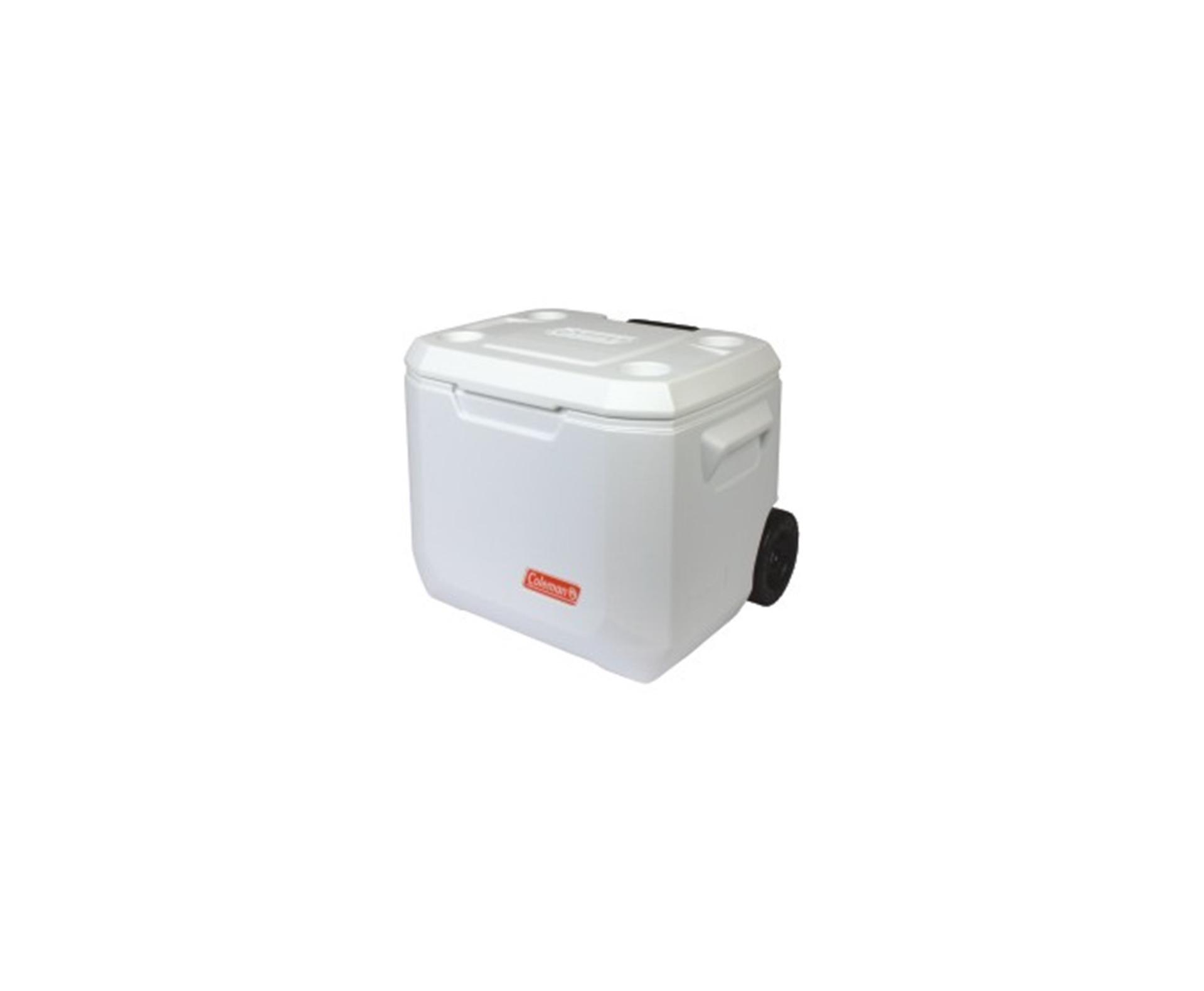 Caixa Térmica C/ Rodas 50qt (47,5 Lts) Marine Xtreme - Coleman