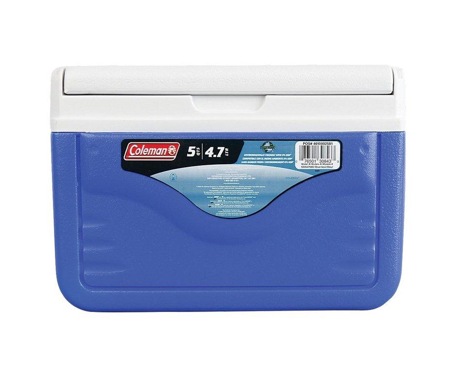 Caixa Térmica 4,7 Litros 5qt Azul Para Vacina - Coleman