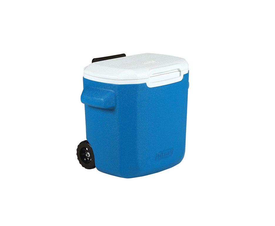 Caixa Térmica  Com Rodas 16qt Azul - Coleman