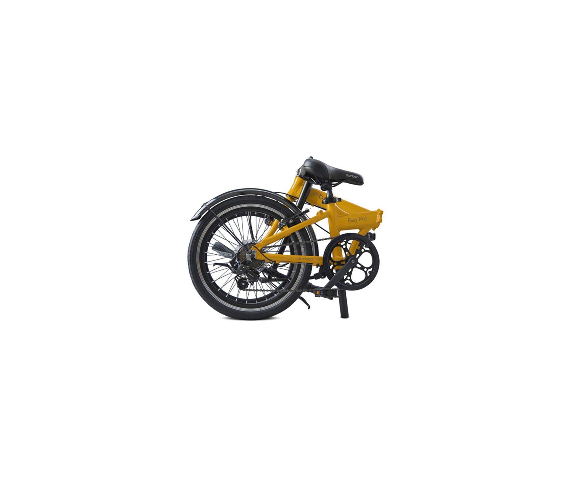 Bicicleta Dobrável Durban Bay Pro - Amarela - Nautika