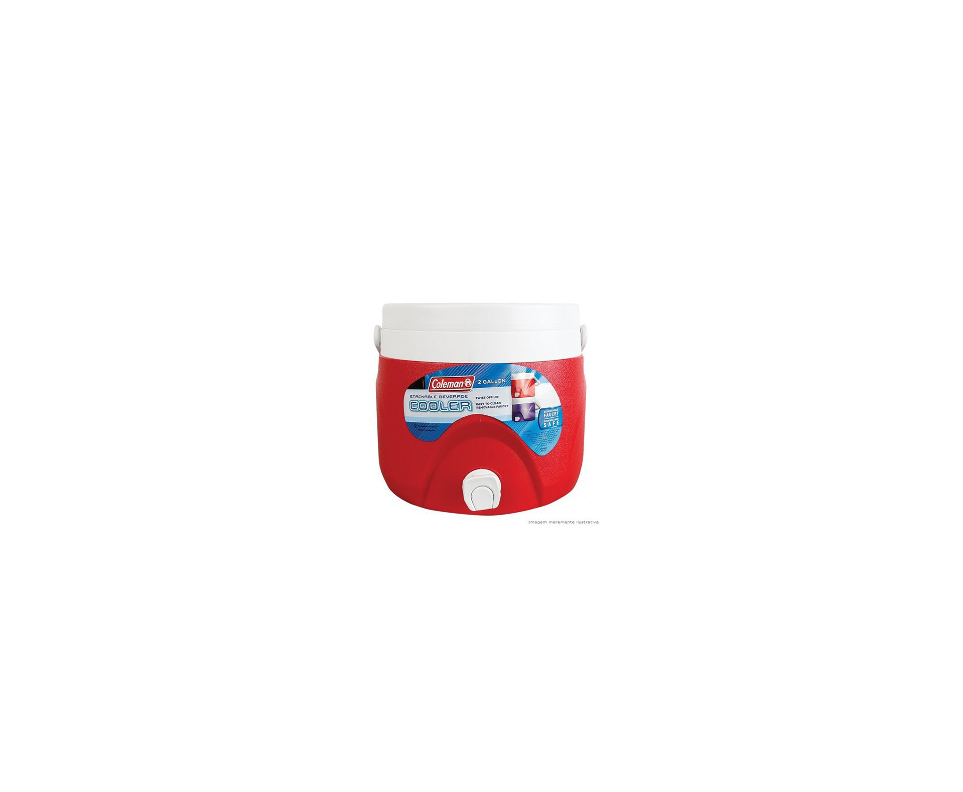 Jarra Térmica 7,5 Litros Vermelho - Coleman