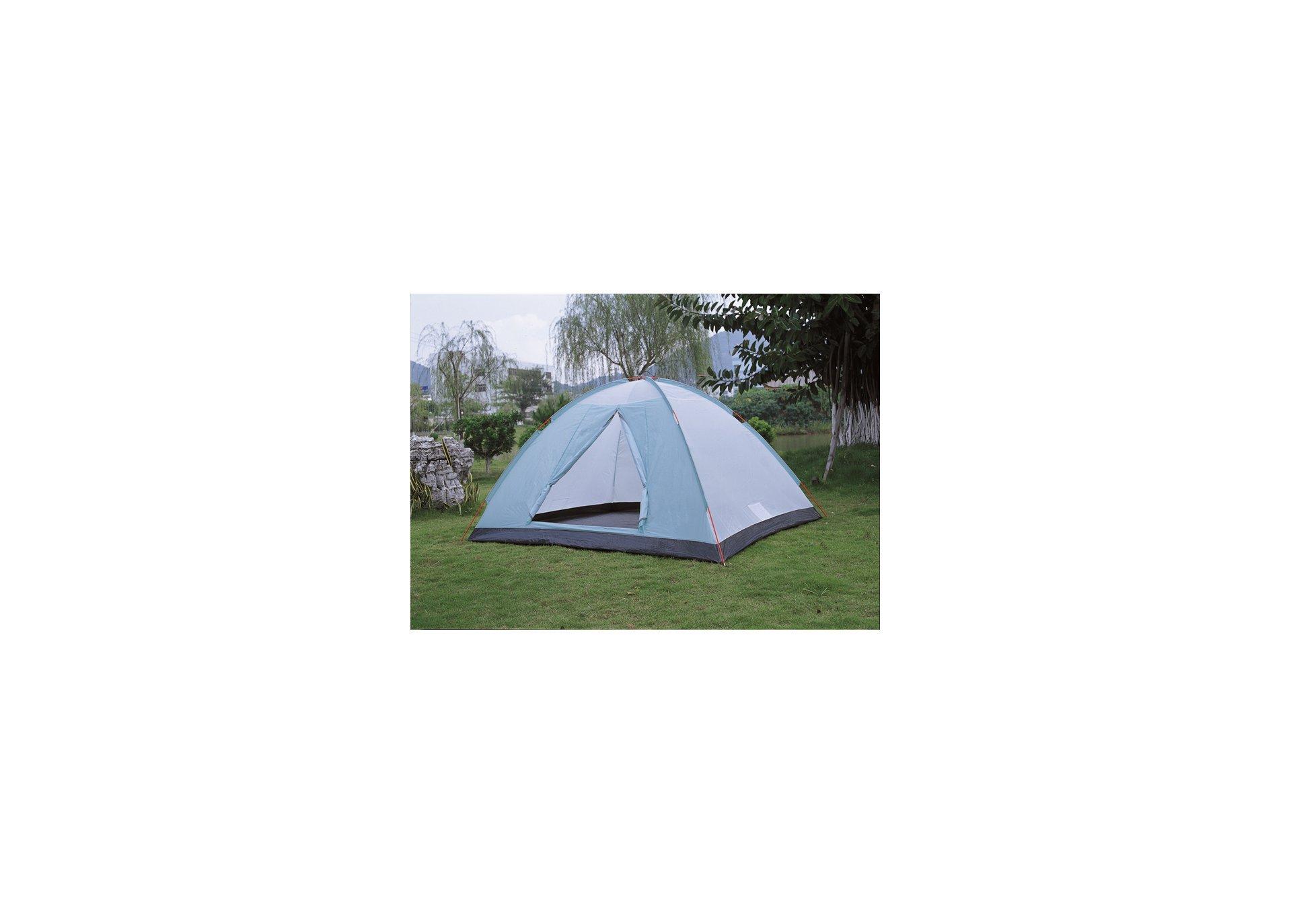 Barraca Para Camping Fox 5/6 Ntk Até 6 Pessoas Com 1800 Mm De Coluna D'água Fácil De Armar