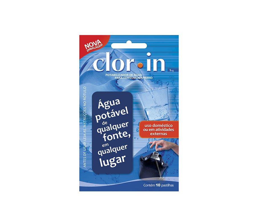 Pastilhas Saneantes De água Para Consumo Humano - Clorin Img