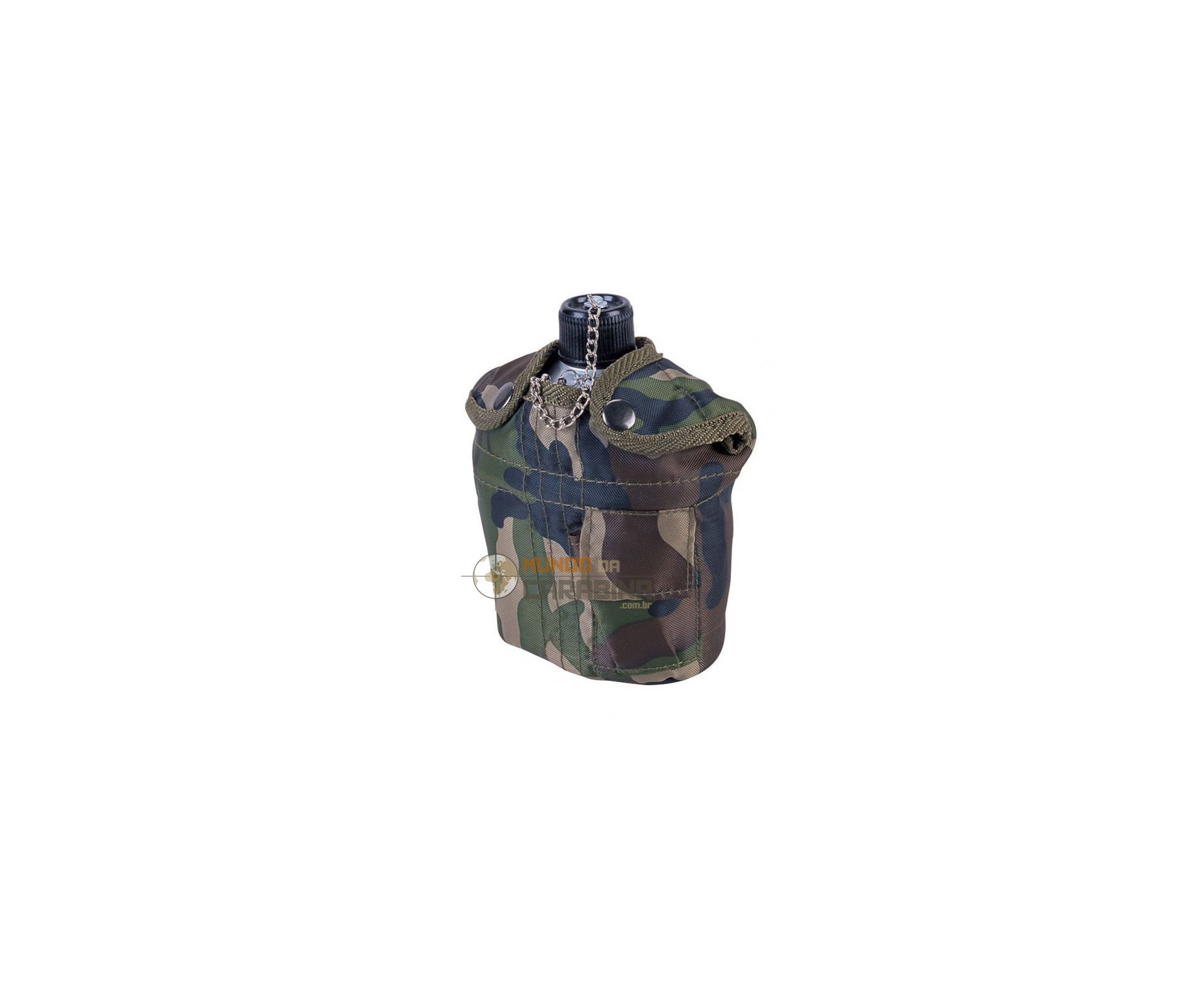 Cantil Alumínio Camuflado 0,9l - Nautika
