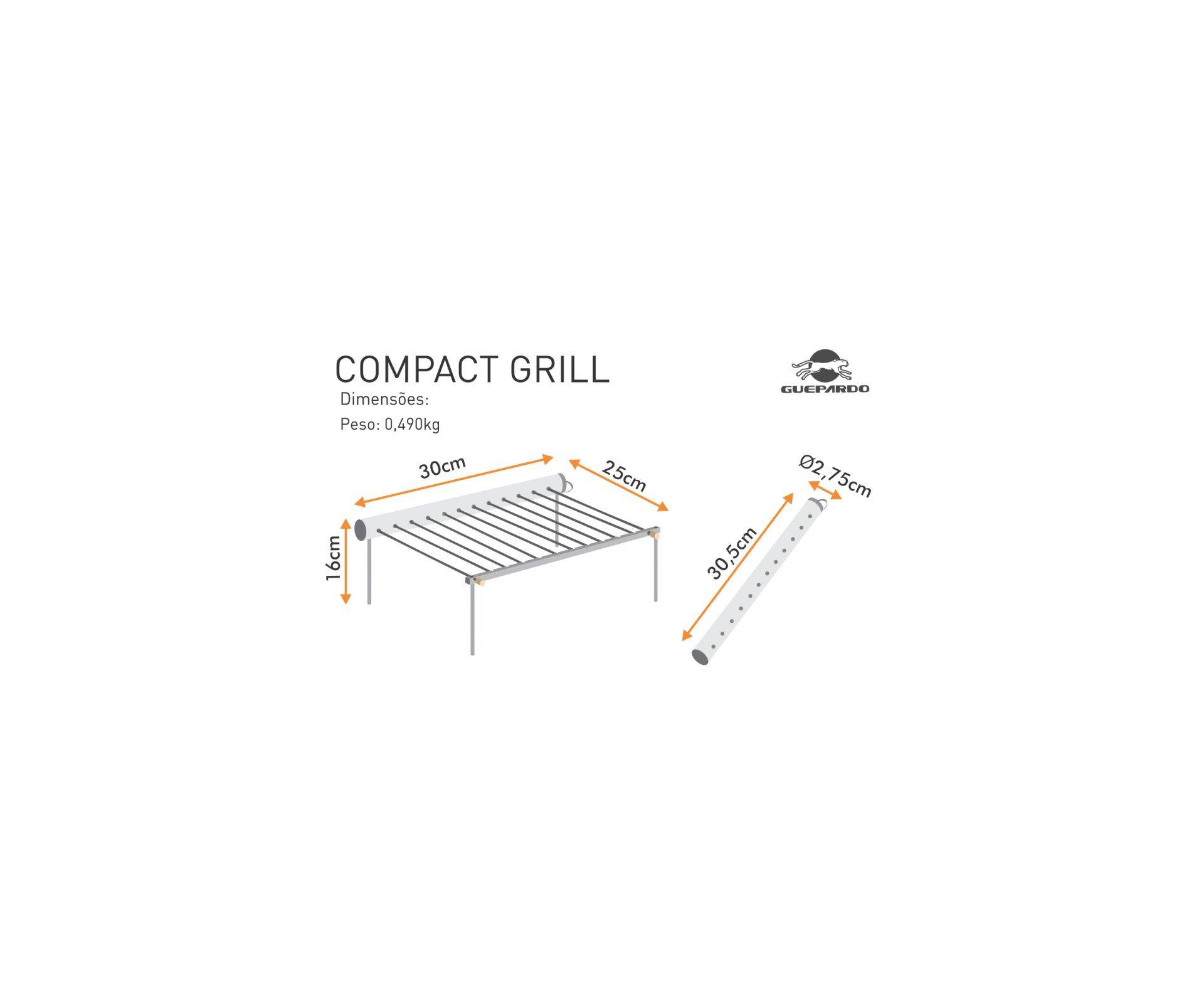 Grelha Compact Grill - Guepardo