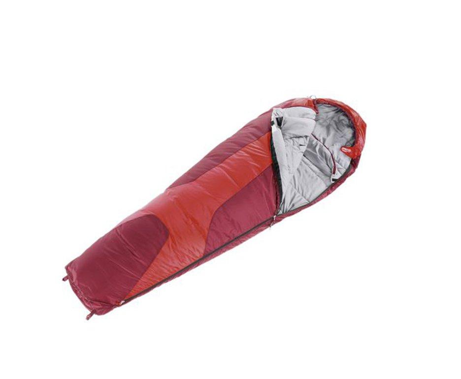Saco De Dormir Orbit 0°c Vermelho  Ziper Lado Esquerdo- Deuter