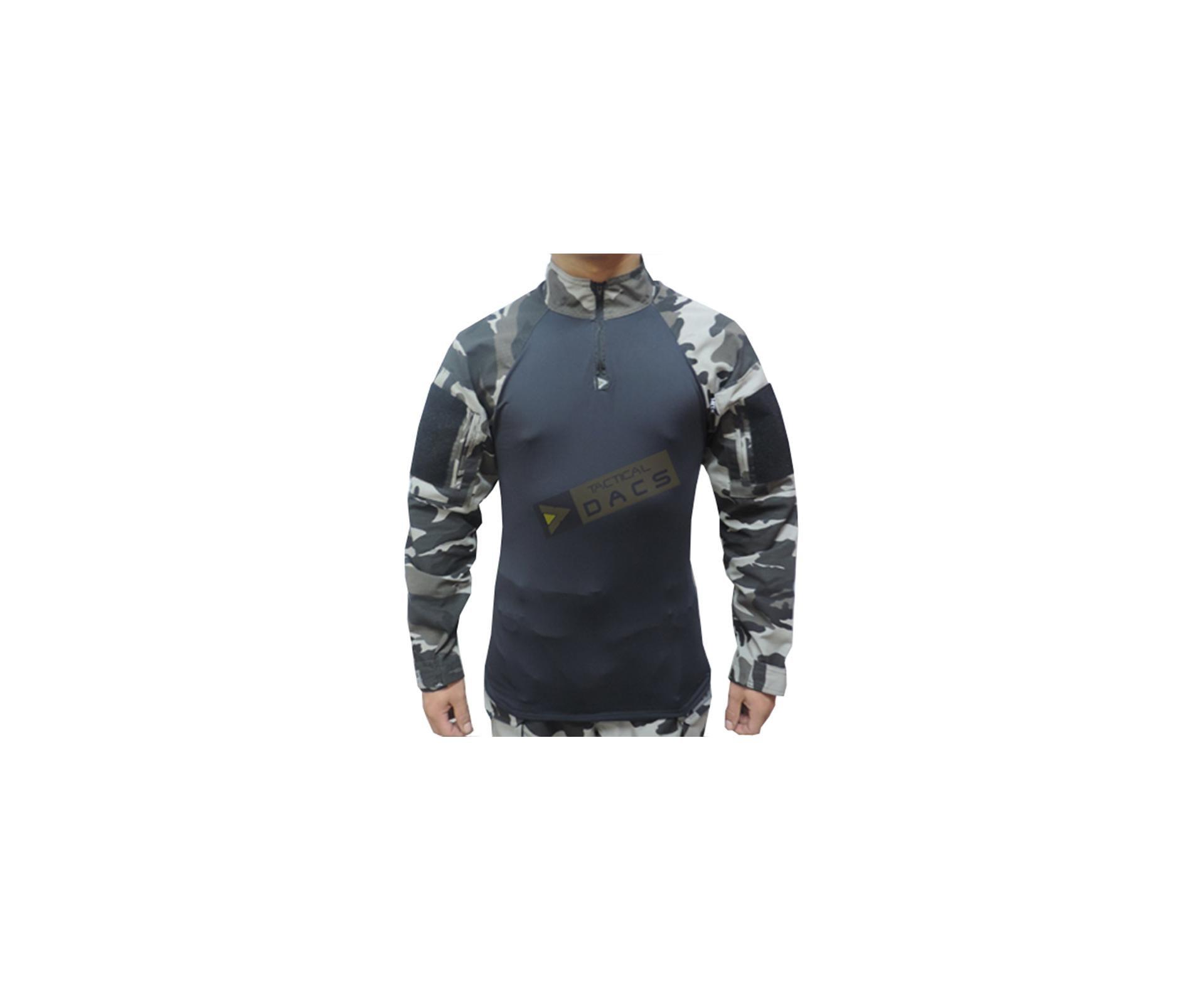 Camisa Combat Shirt Hrt - Urbano Black - Dacs