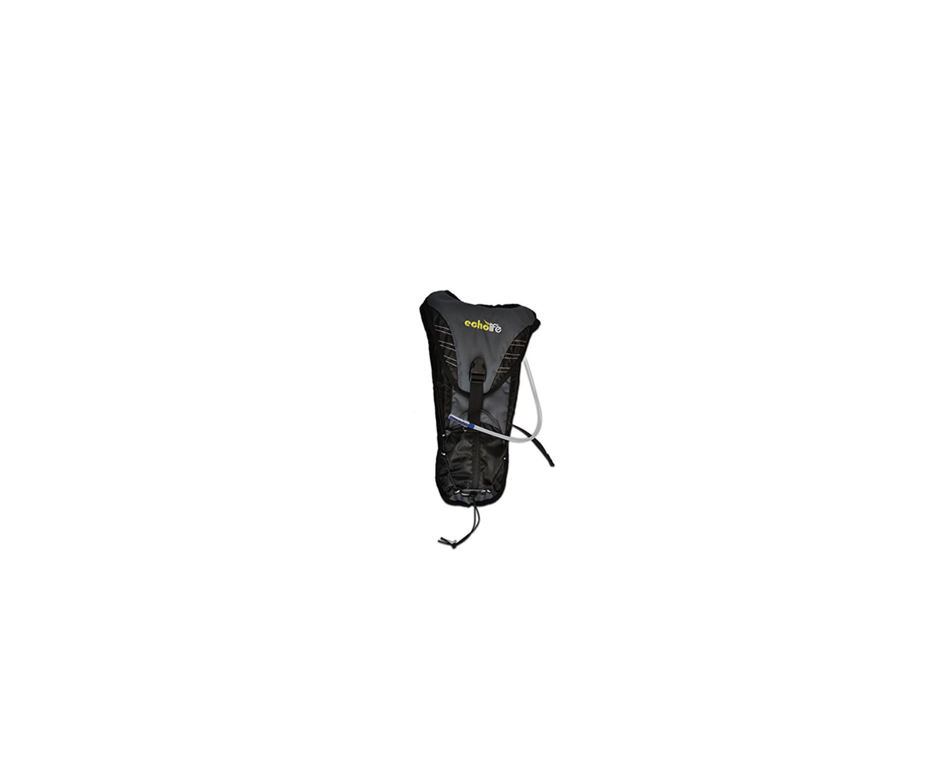 Mochila Hidratação Hydryx Com Capacidade 2l Preto Cinza - Echolife
