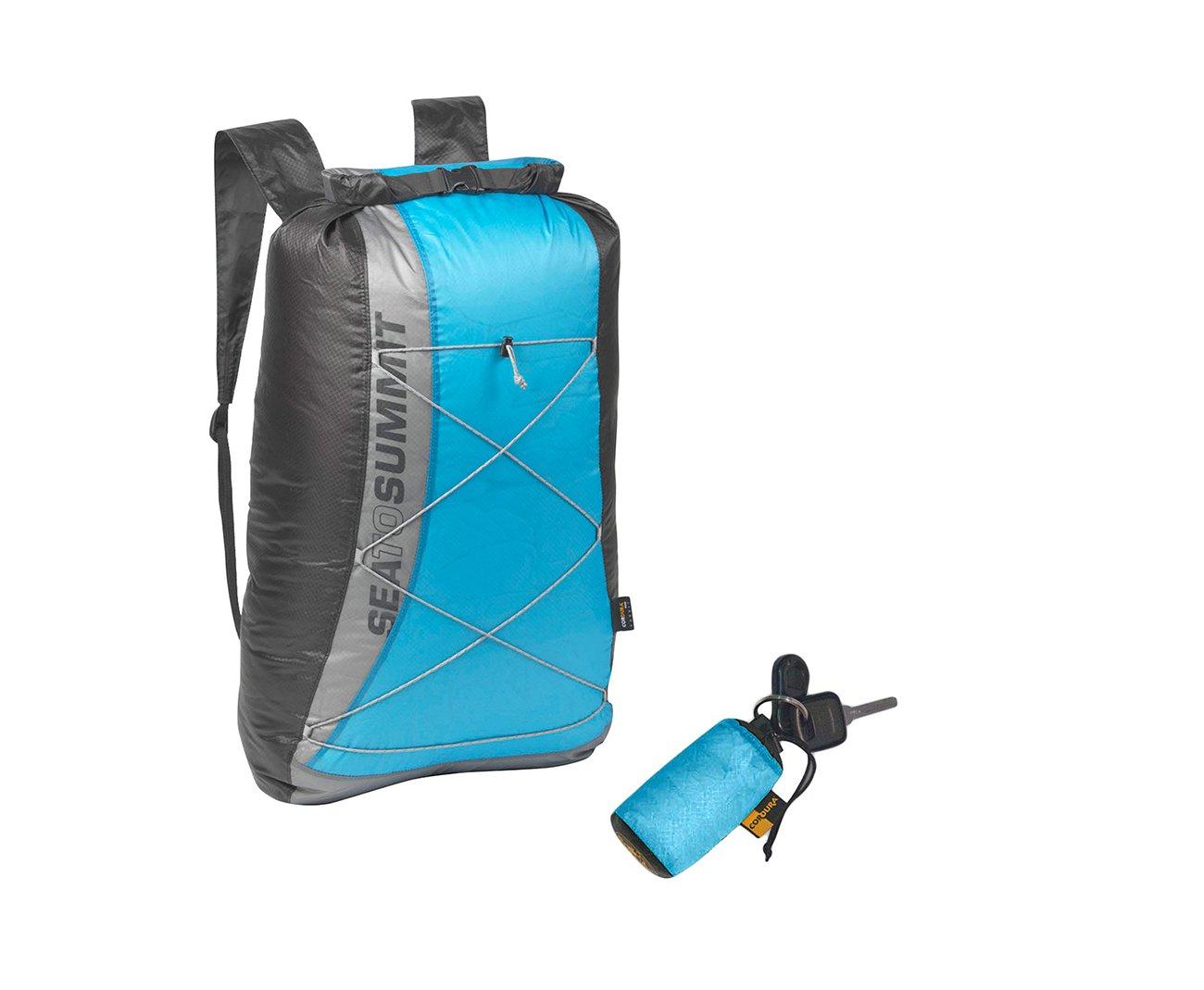 Mochila Sprint Waterproof Drypack 20 Litros Azul - Sea To Summit