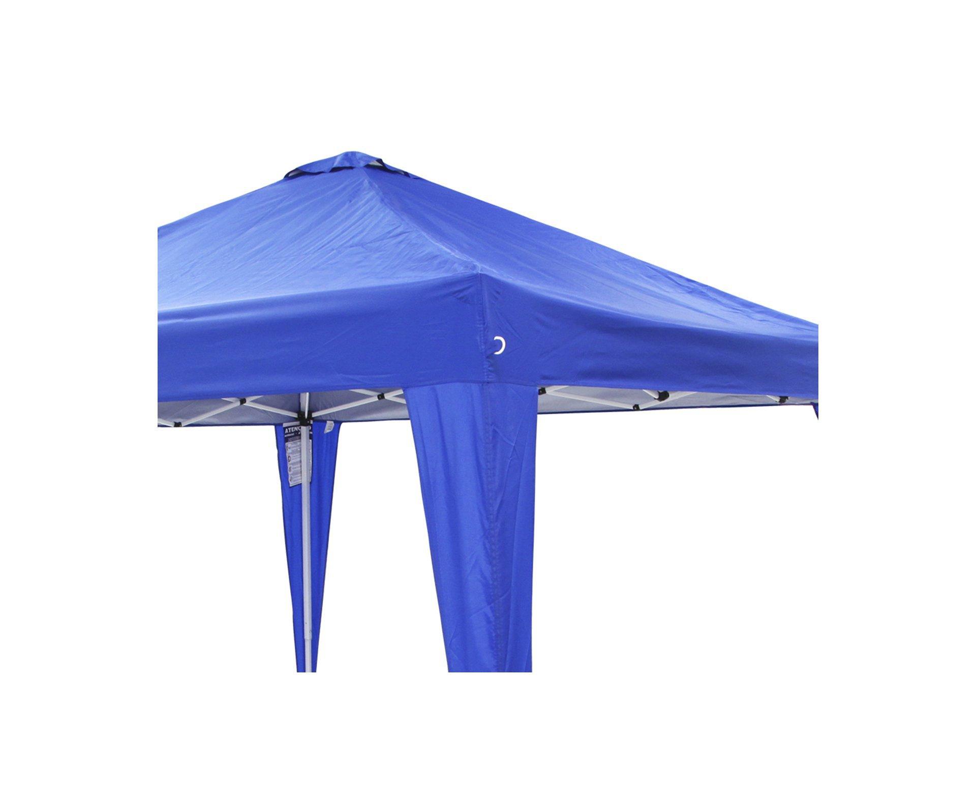 Gazebo Duxx Azul Proteção Solar Uv 50+ Nautika