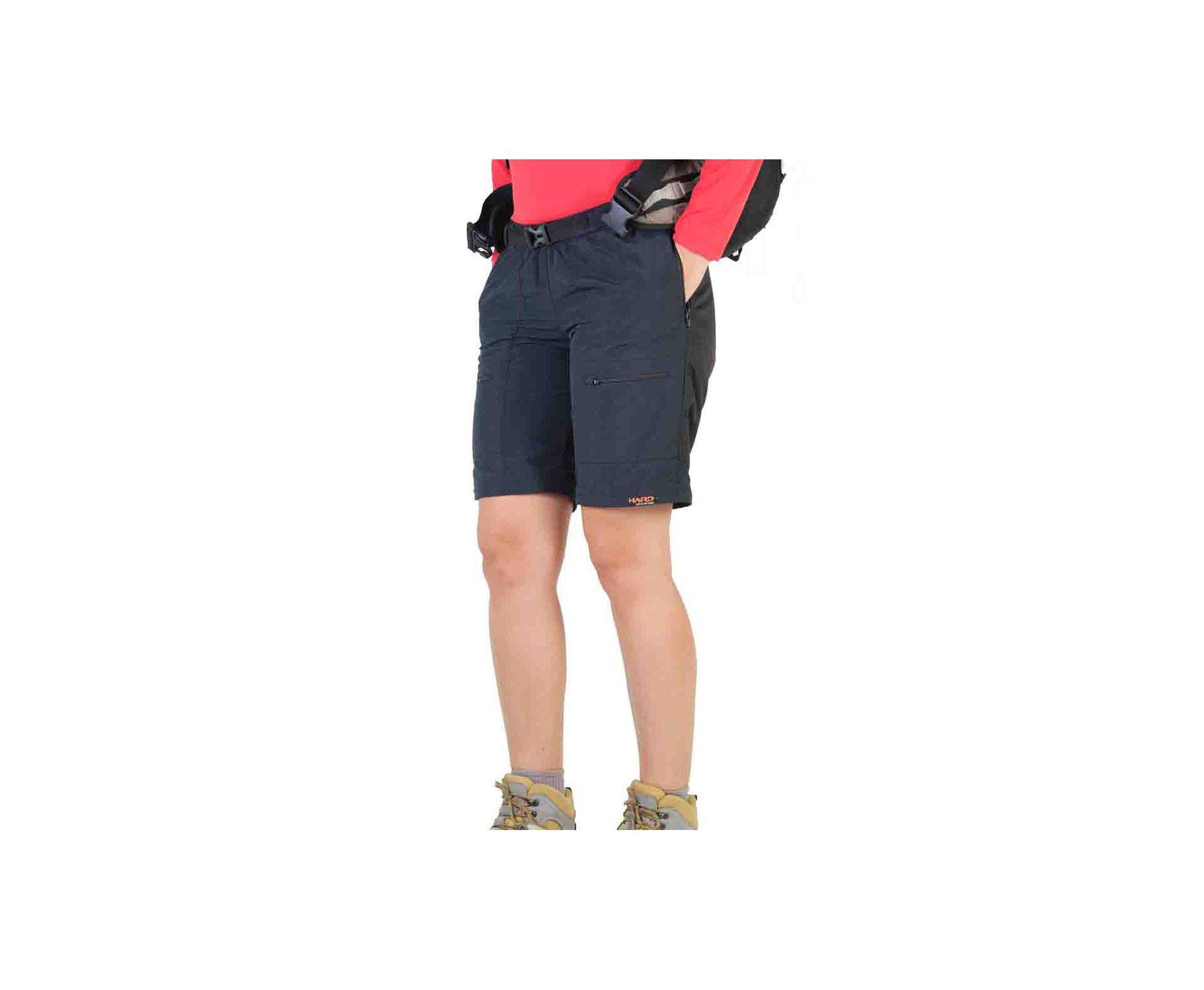 Calça-bermuda Pro Mountain Feminina Preto - Hard - PP