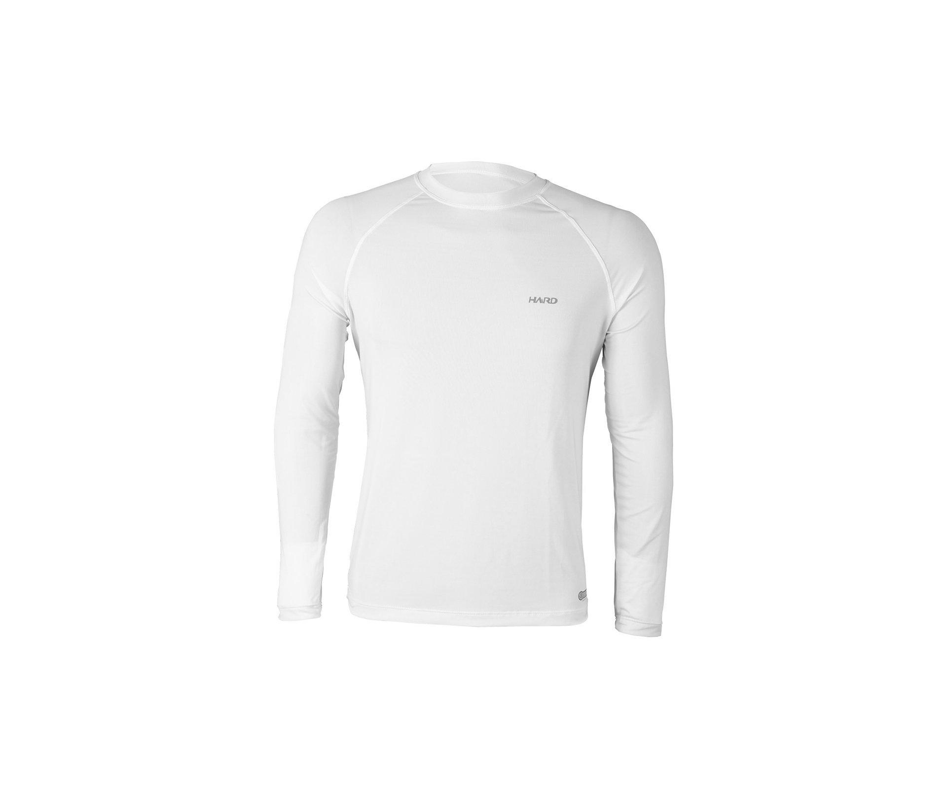 Camiseta Nanotec M.longa Fresh50 Branco Leggerissimo - Hard
