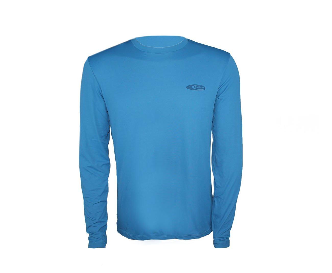 Camiseta Softline Azul - Proteção Uva/uvb 50+ Fps - Cardume