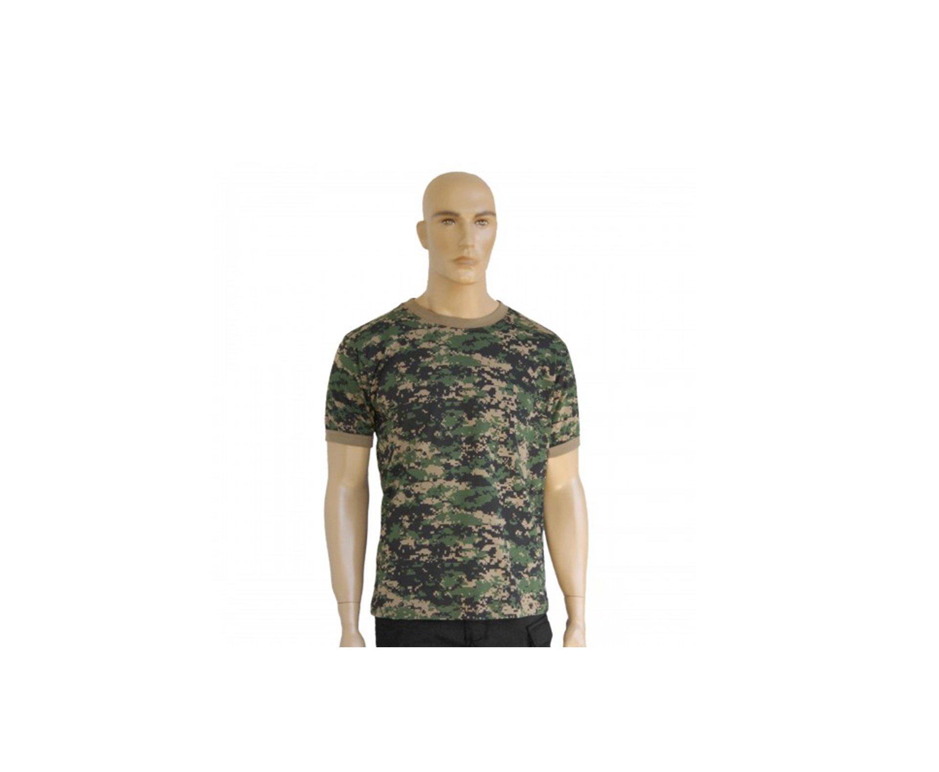 Camiseta Camuflada Digital Marpat - Bravo