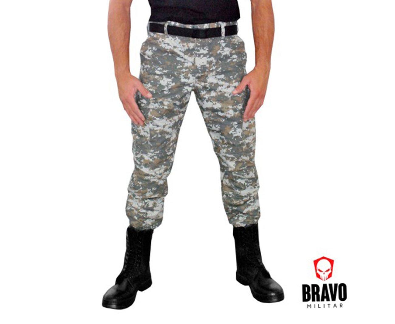 Calça Tatica Camuflada Army Combat Camuflado Digital - Bravo