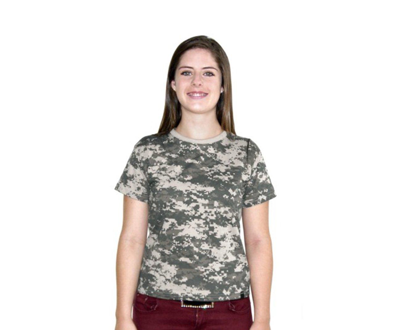 Baby Look Camuflada Digital Army Combaty Camuflado Digital - Bravo