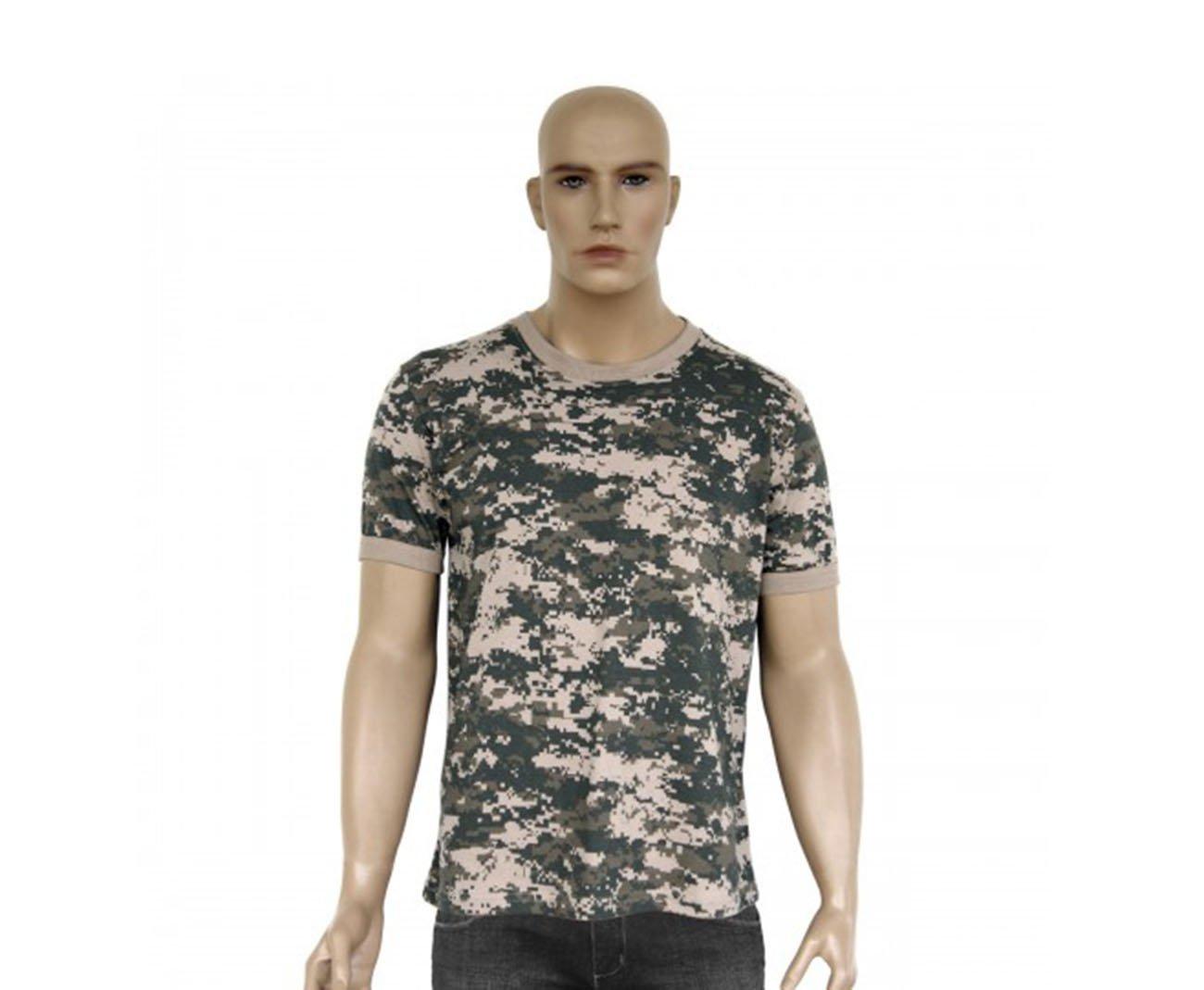 Camiseta Camuflada Digital Army Combaty - Bravo