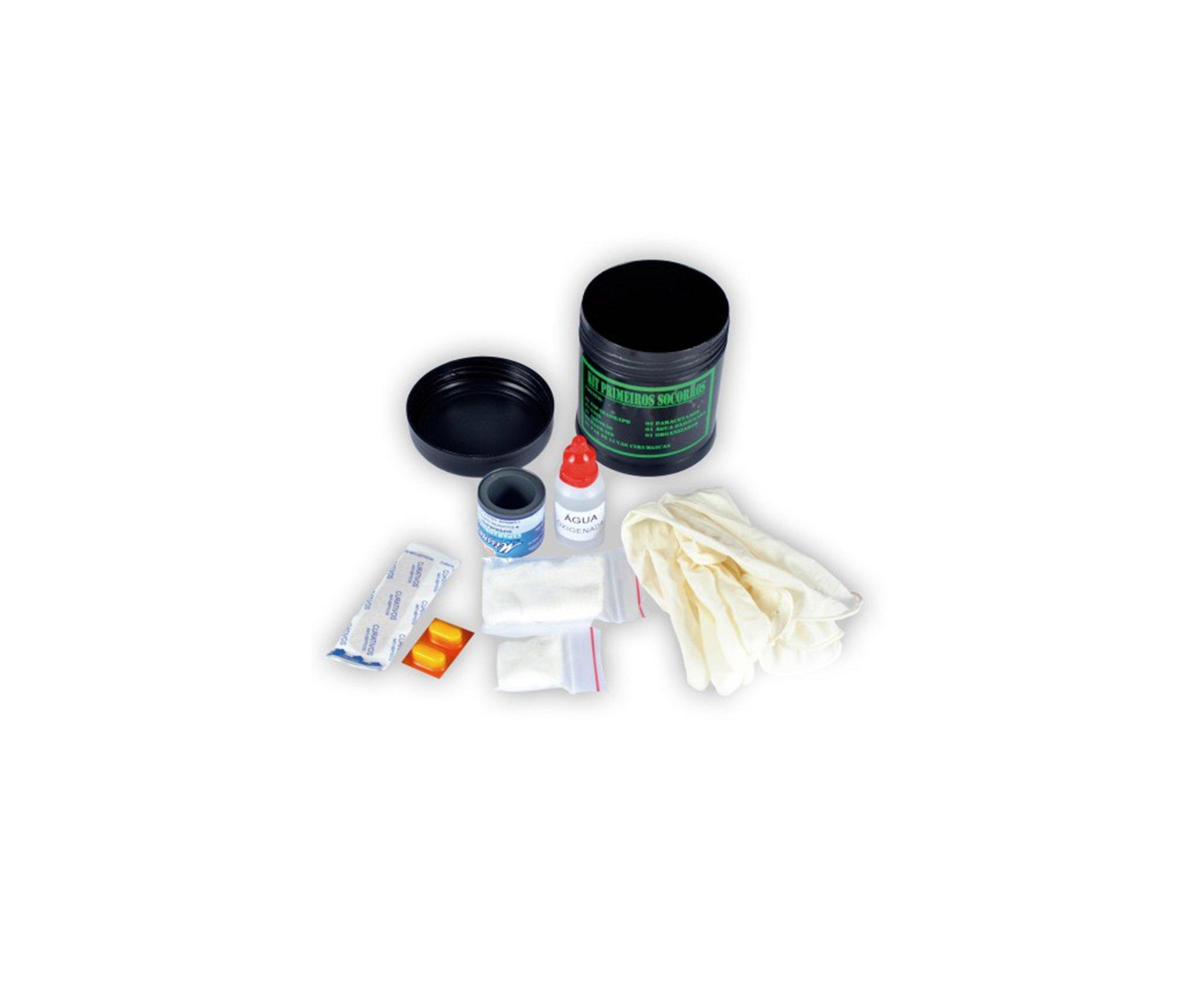 Kit Primeiros Socorros único - Bravo