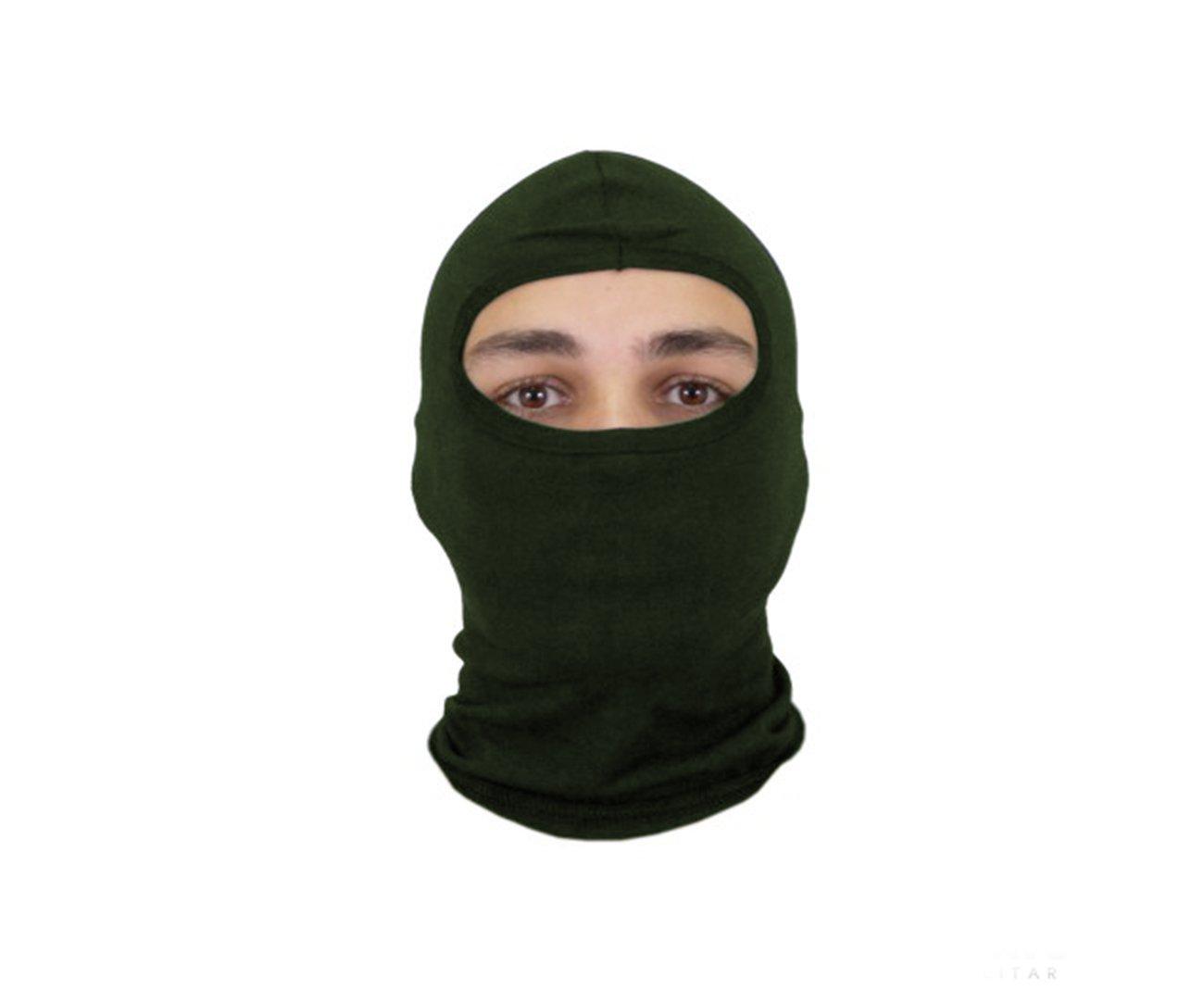 Balaclava Ninja Cotton I Verde - Bravo