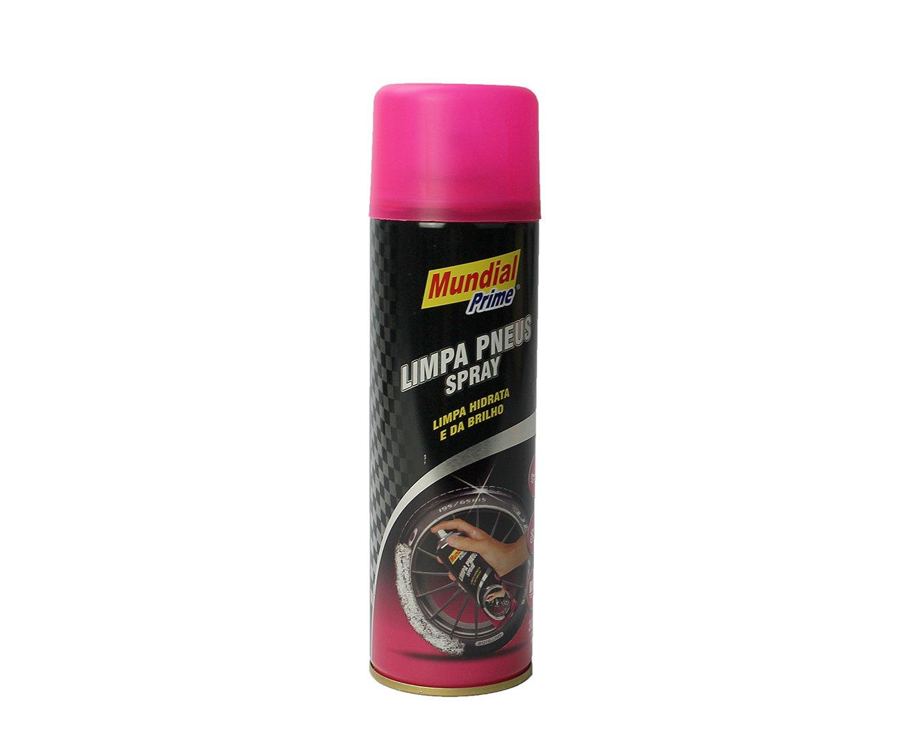 Limpa Pneus Spray 300ml - Mundial Prime