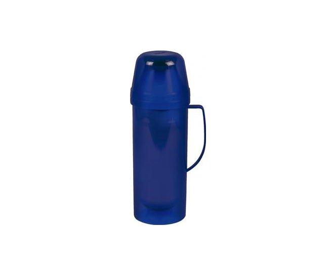 Garrafa Térmica Diva 1,0 Litro Azul - Mor