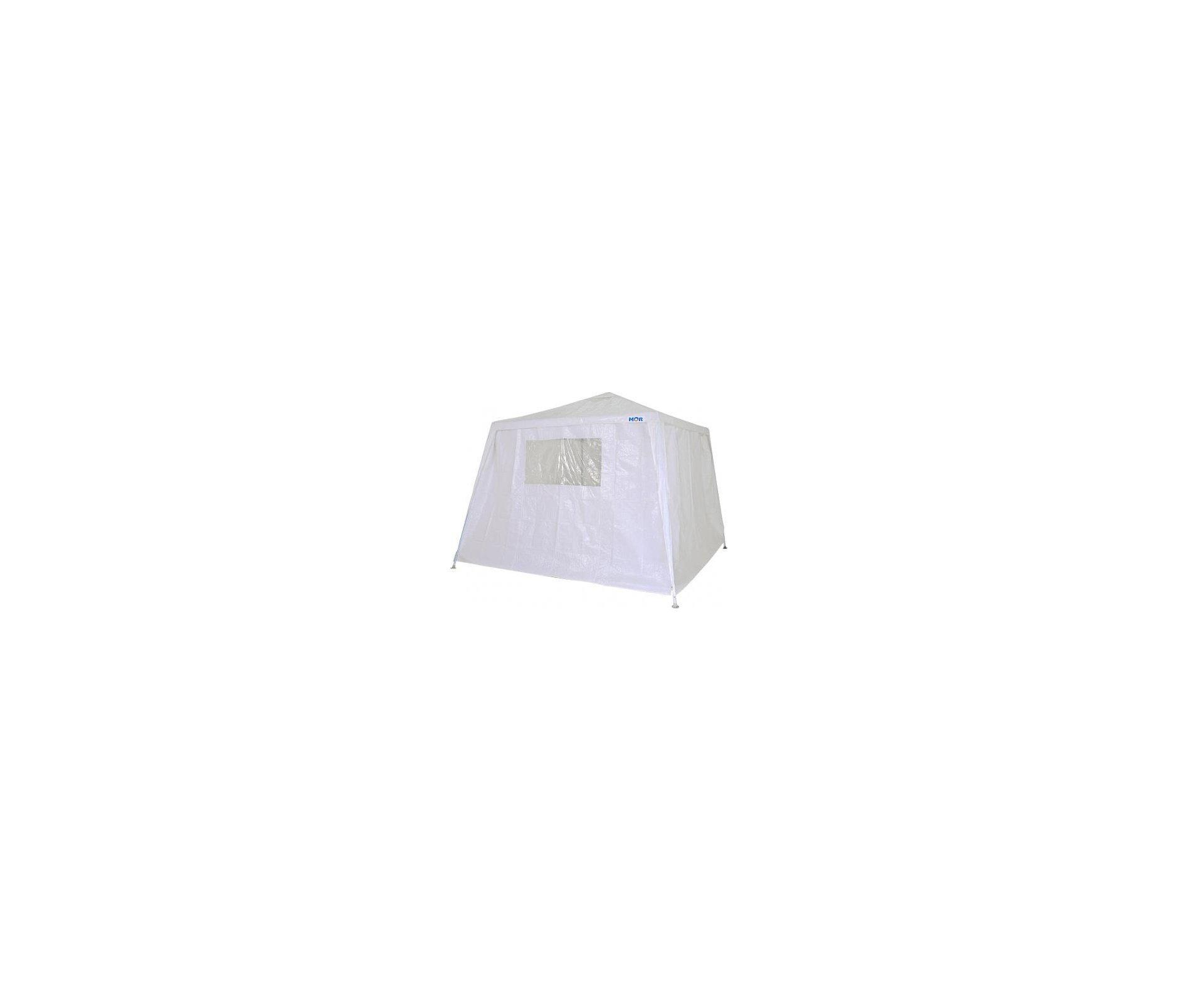 Conjunto De Parede Para Gazebo 2,4 X 3,0m - Branco - Mor