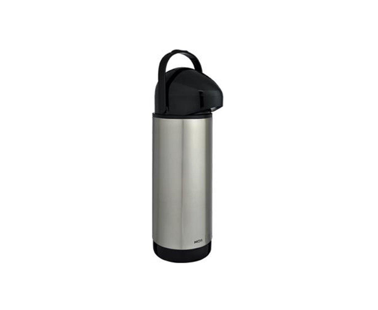 Garrafa Térmica Inox Pressione 1,0 Litro - Mor