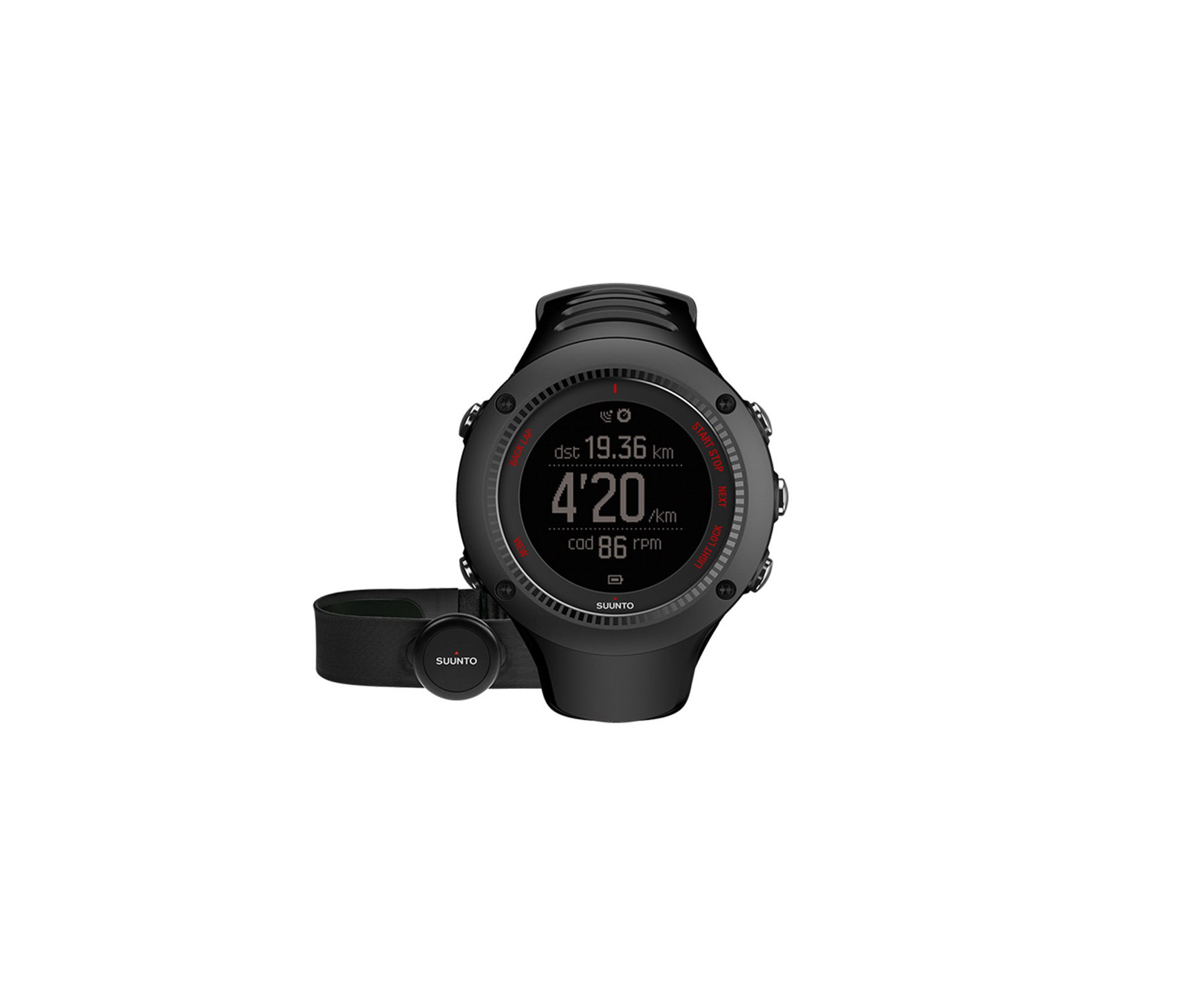 Relogio Ambit3 Run Preto Hr - Suunto