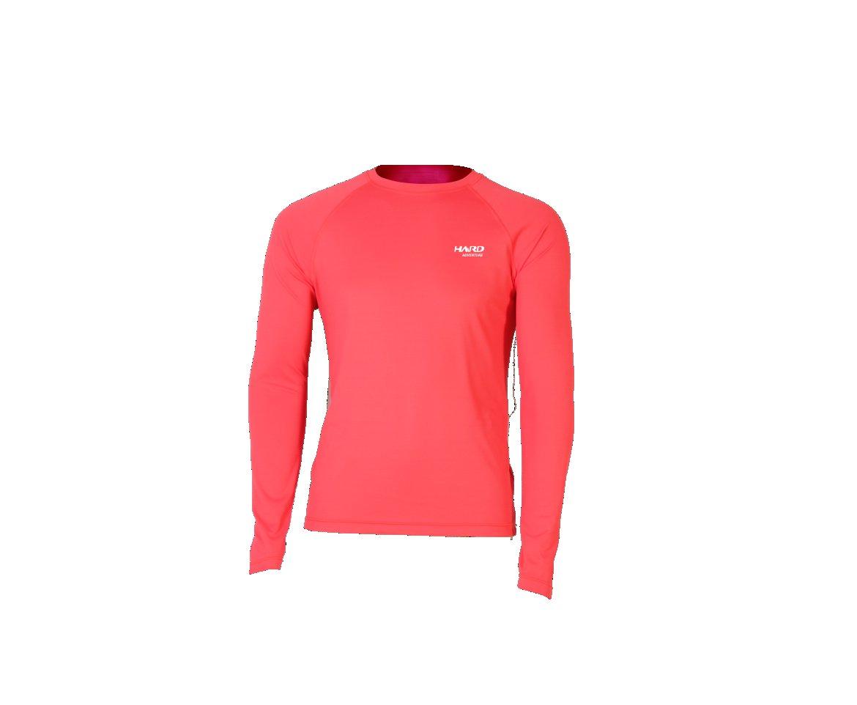 Camiseta Uvblock Masculina Ml - Vermelha - Hard