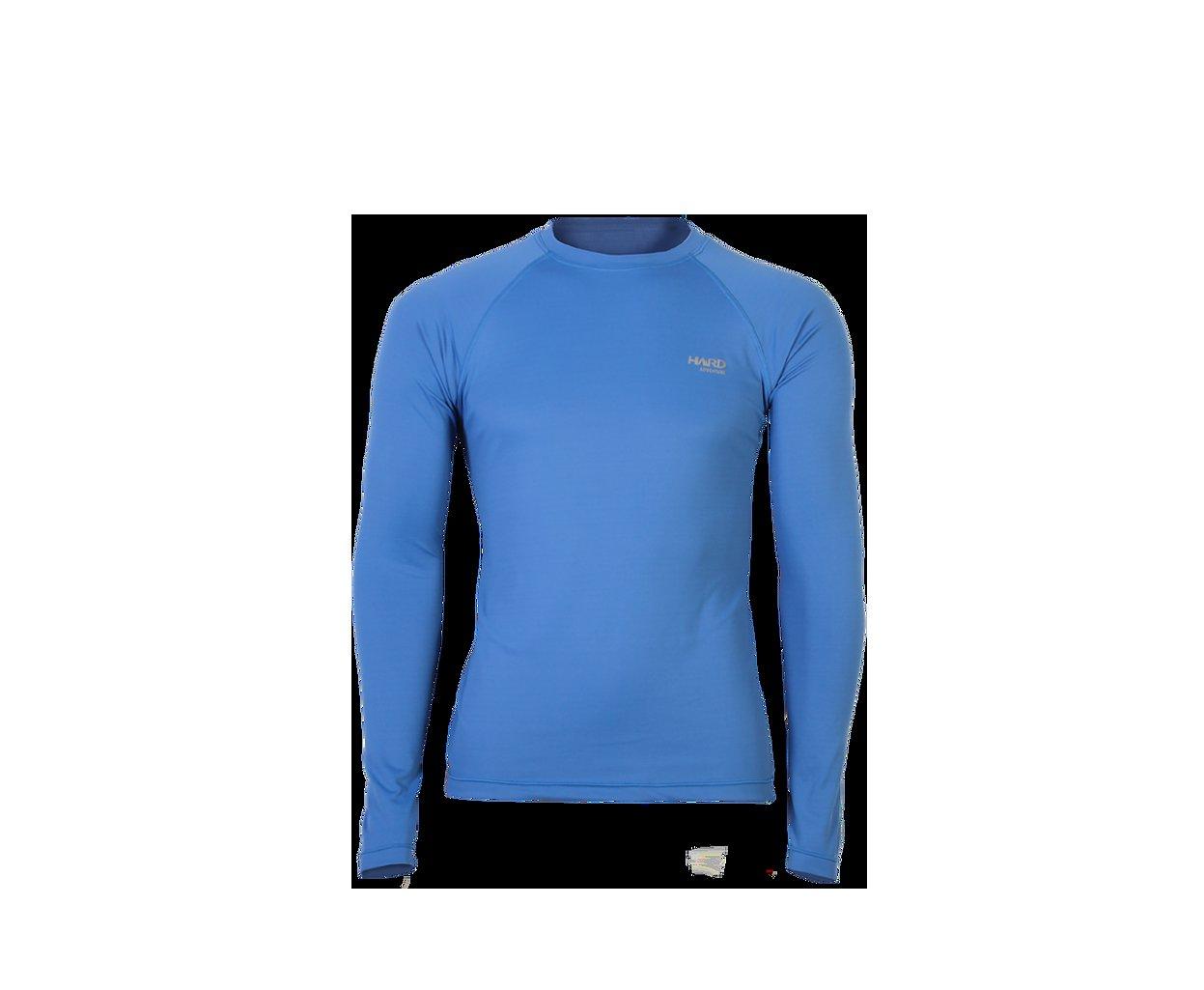Camiseta Uvblock Masculina Ml - Azul Novo Anil - Hard