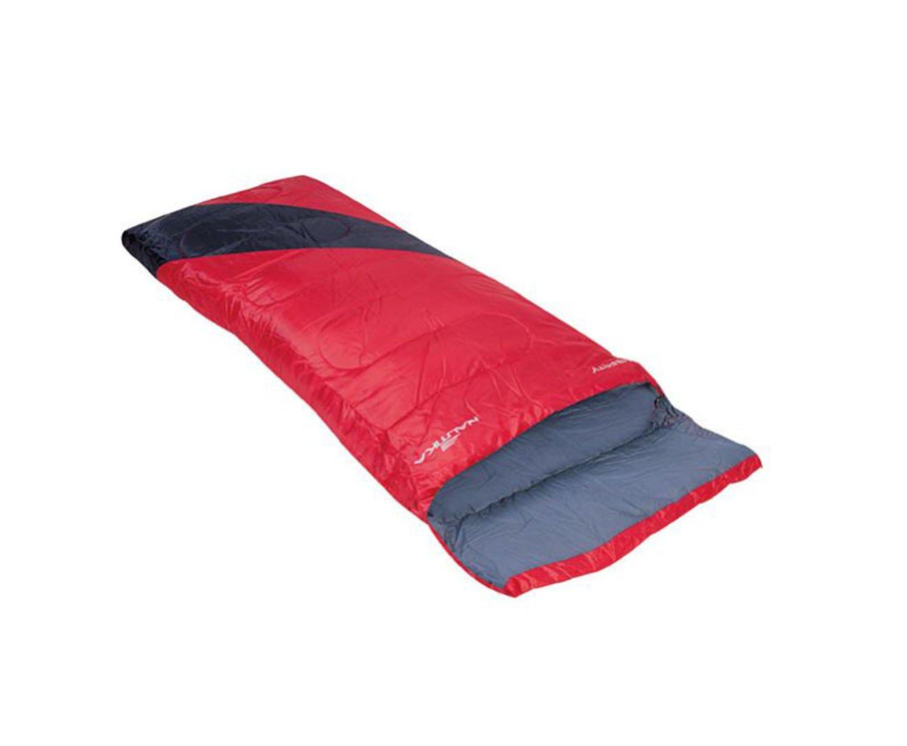 Saco De Dormir Liberty +4°c A +10°c Preto E Vermelho - Nautika