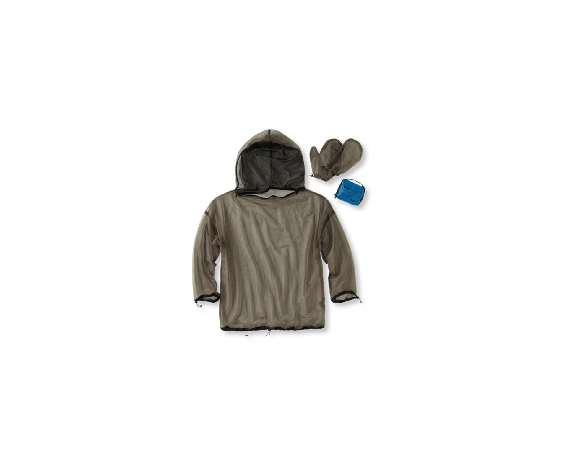 Mosquiteiro Bug Jacket Com Capuz E Luvas