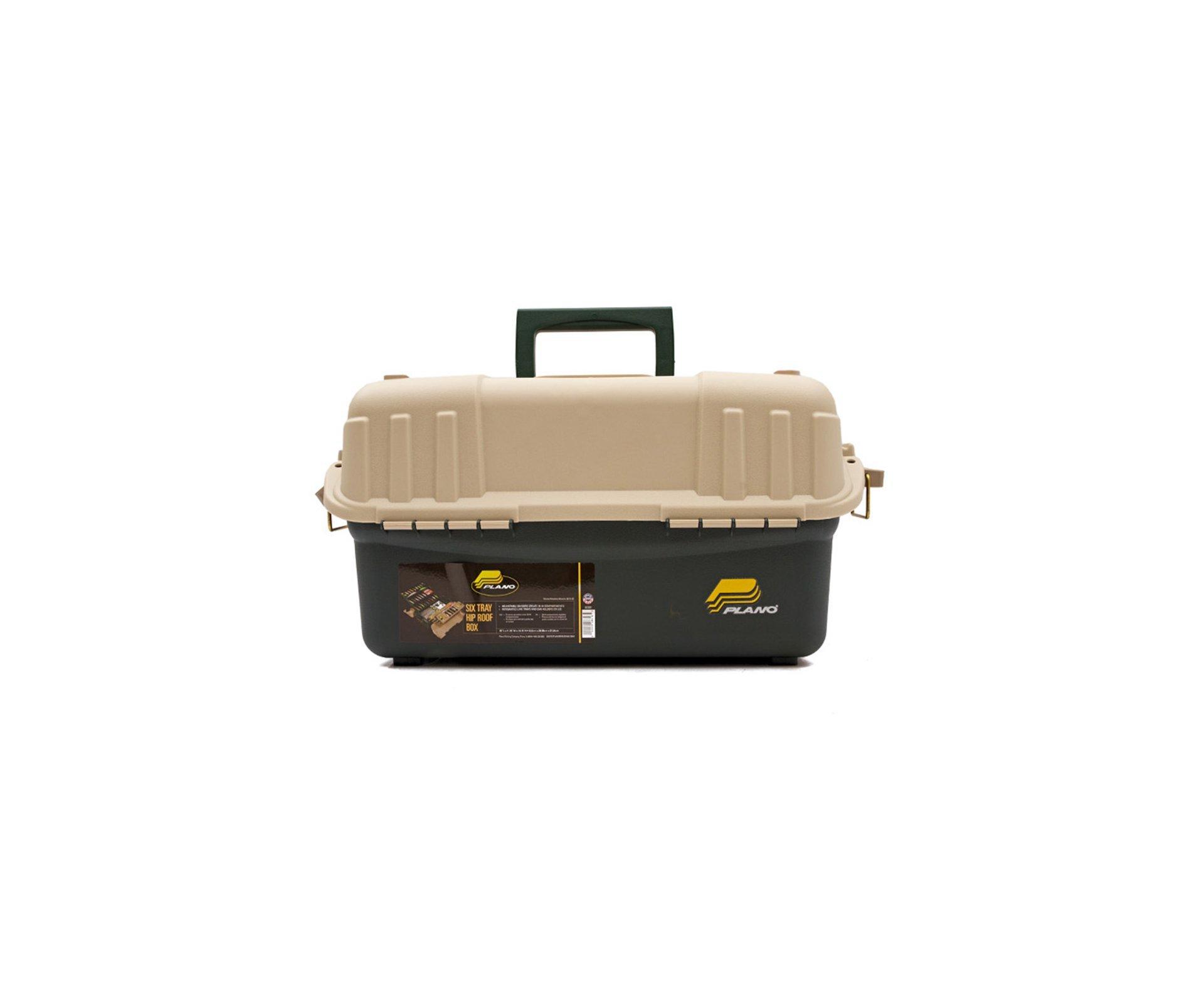 Caixa Para Pesca Com 6 Bandeja E Divisores - (8616-00) Magnum - Plano