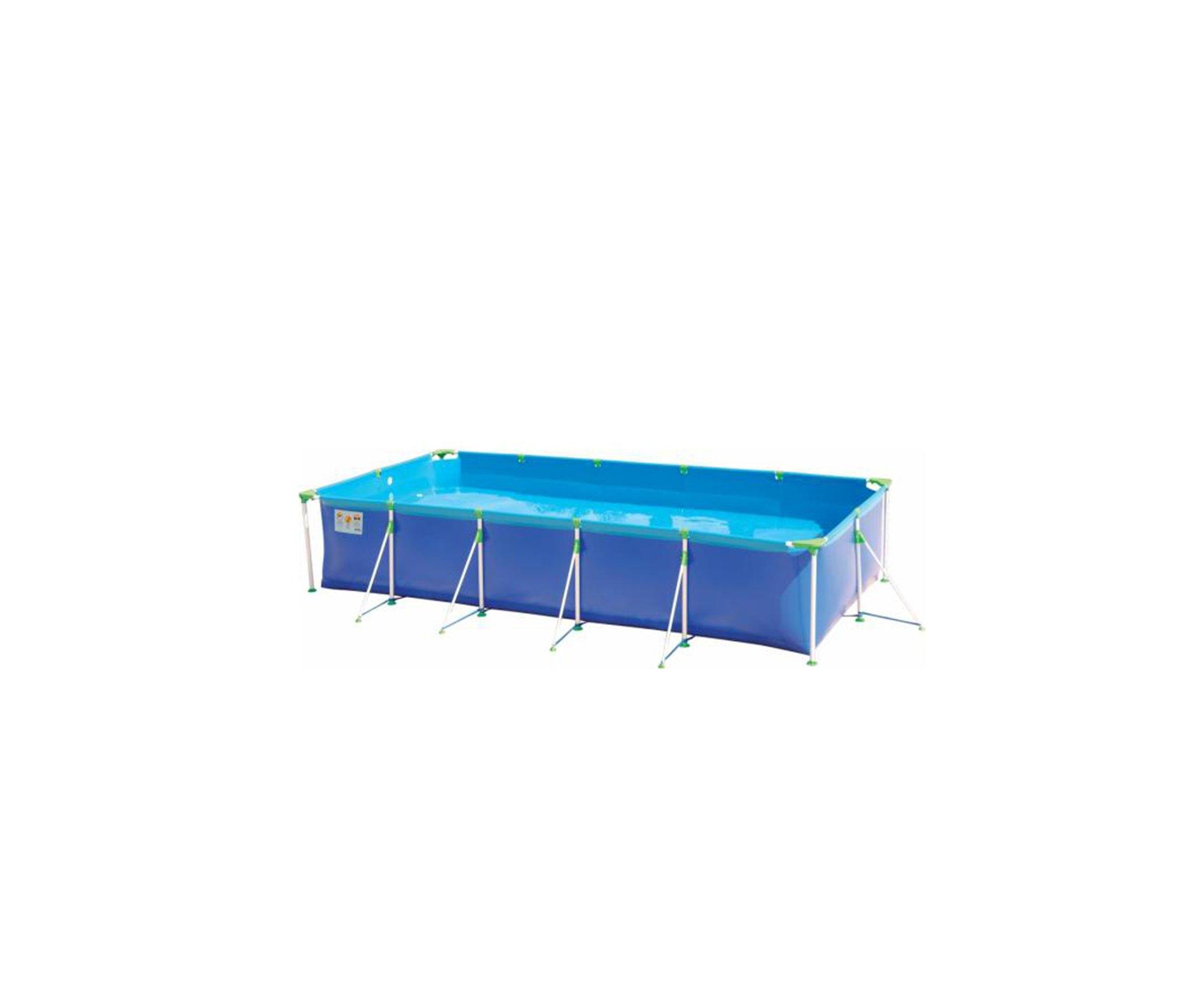 Piscina Retangular Premium 7600 Litros - Mor