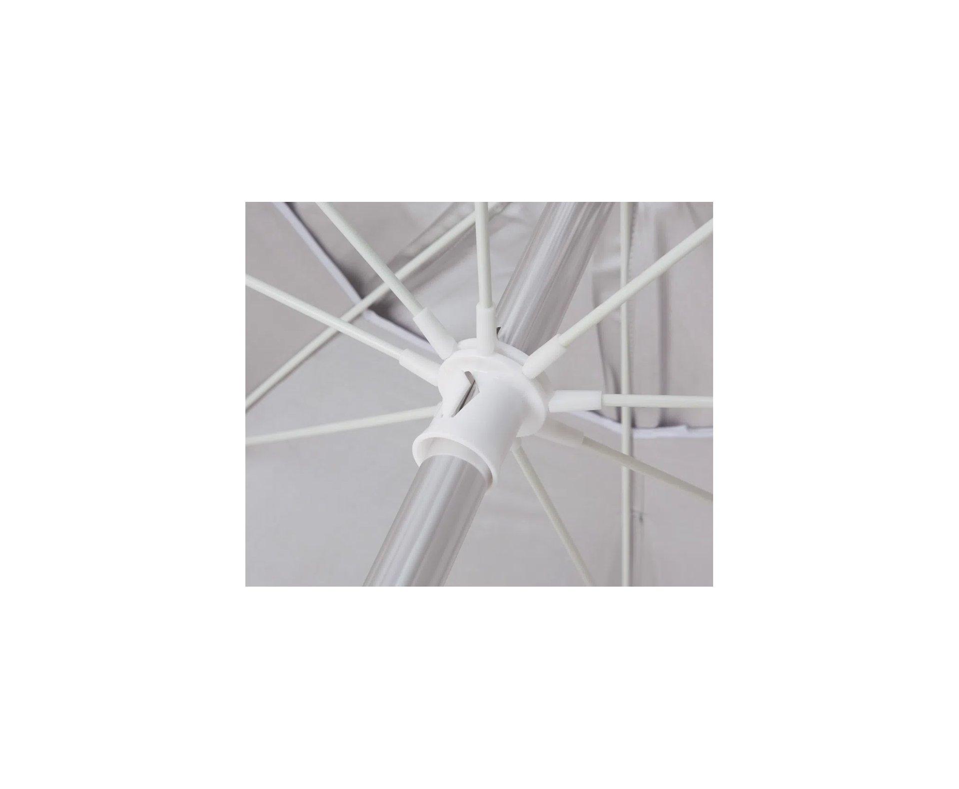Guarda - Sol  Alumínio Articulado 2,40m Cores Variadas - Mor