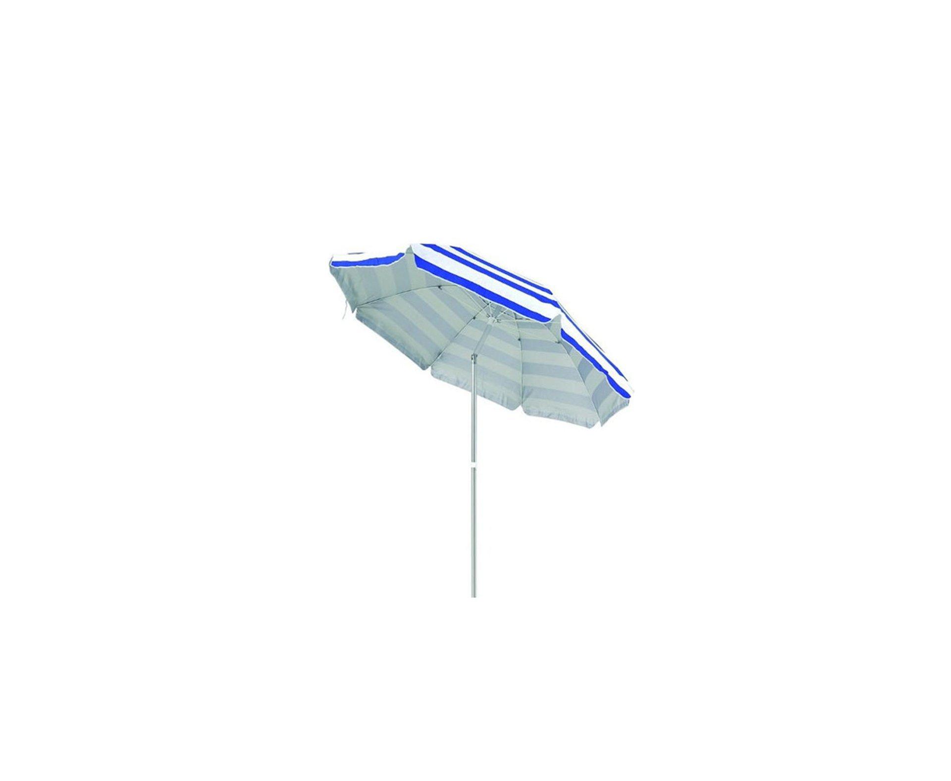 Guarda - Sol 2,4m Alumínio Azul  - Mor