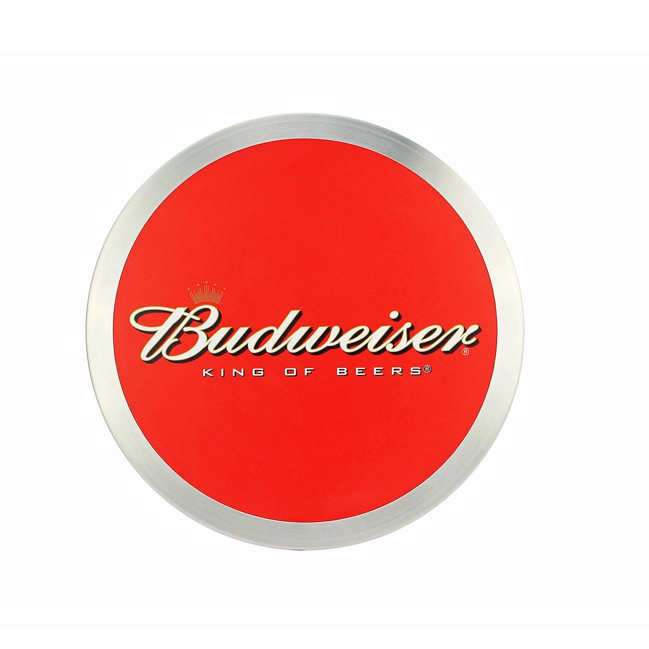 Luminoso Decorativo - Budweiser Vermelho - 31 Cm - Bar Light