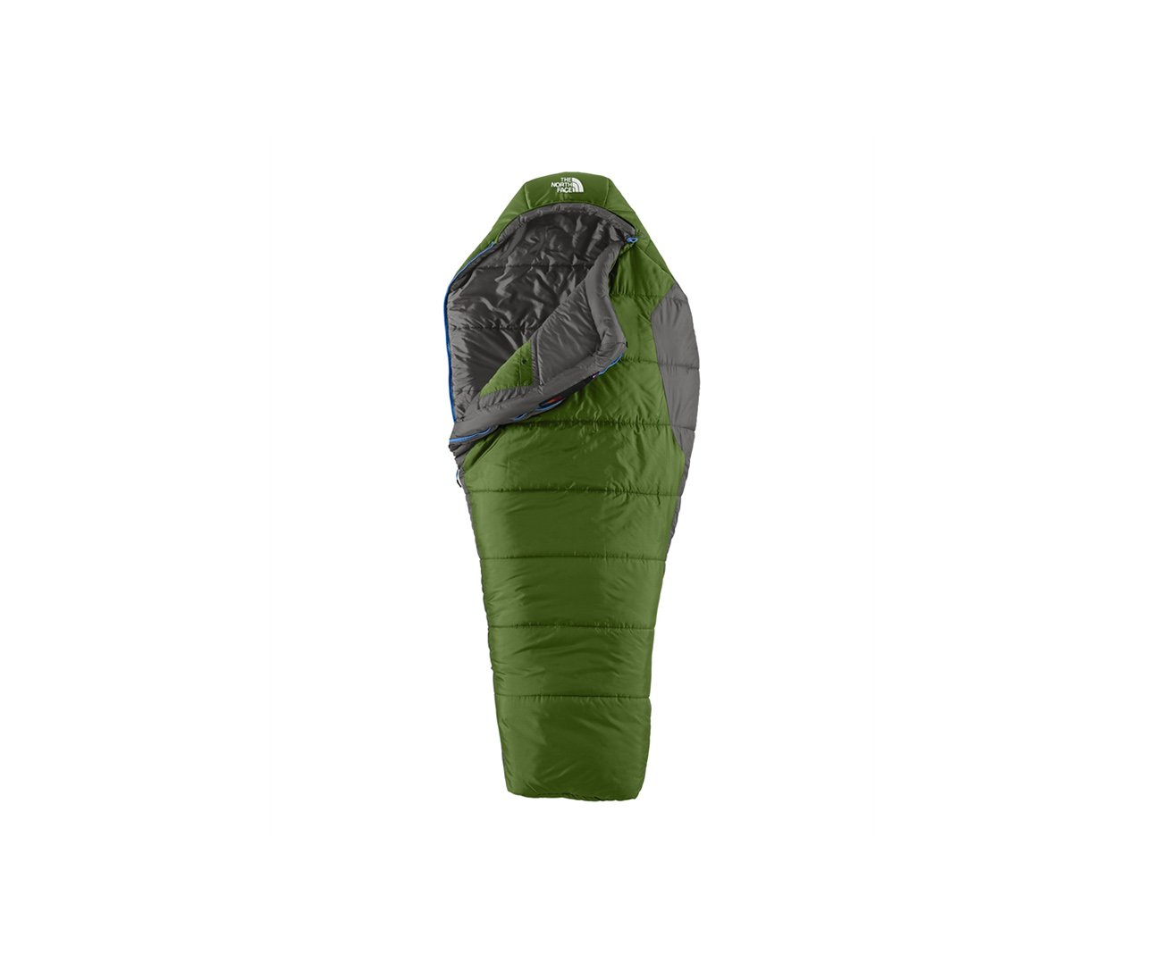 Saco De Dormir Aleutian 4s Bx Verde/cinza 0 °c Ziper Lado Direito - The North Face