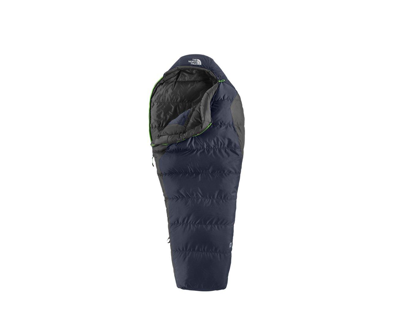 Saco De Dormir Aleutian 3s Down Azul Escuro/cinza Ziper Lado Direito - The North Face