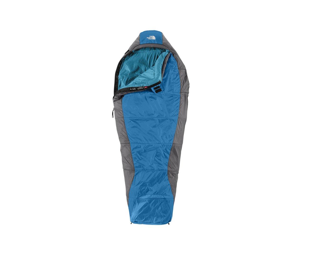 Saco De Dormir Super Cat 20°f / -7°c Azul/cinza Ziper Lado Direito- The North Face